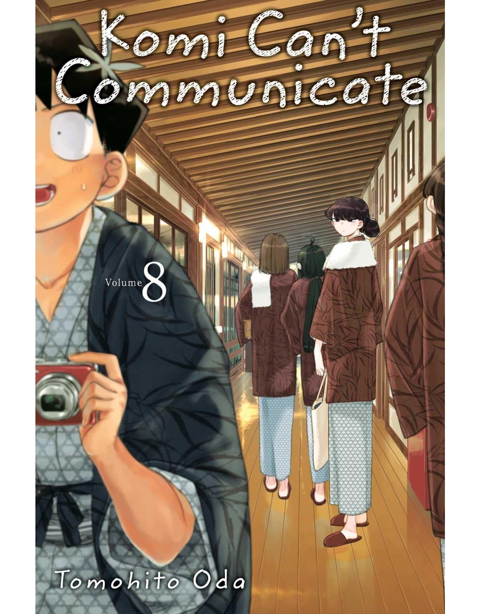 Komi Can't Communicate 8 (Engelstalig)
