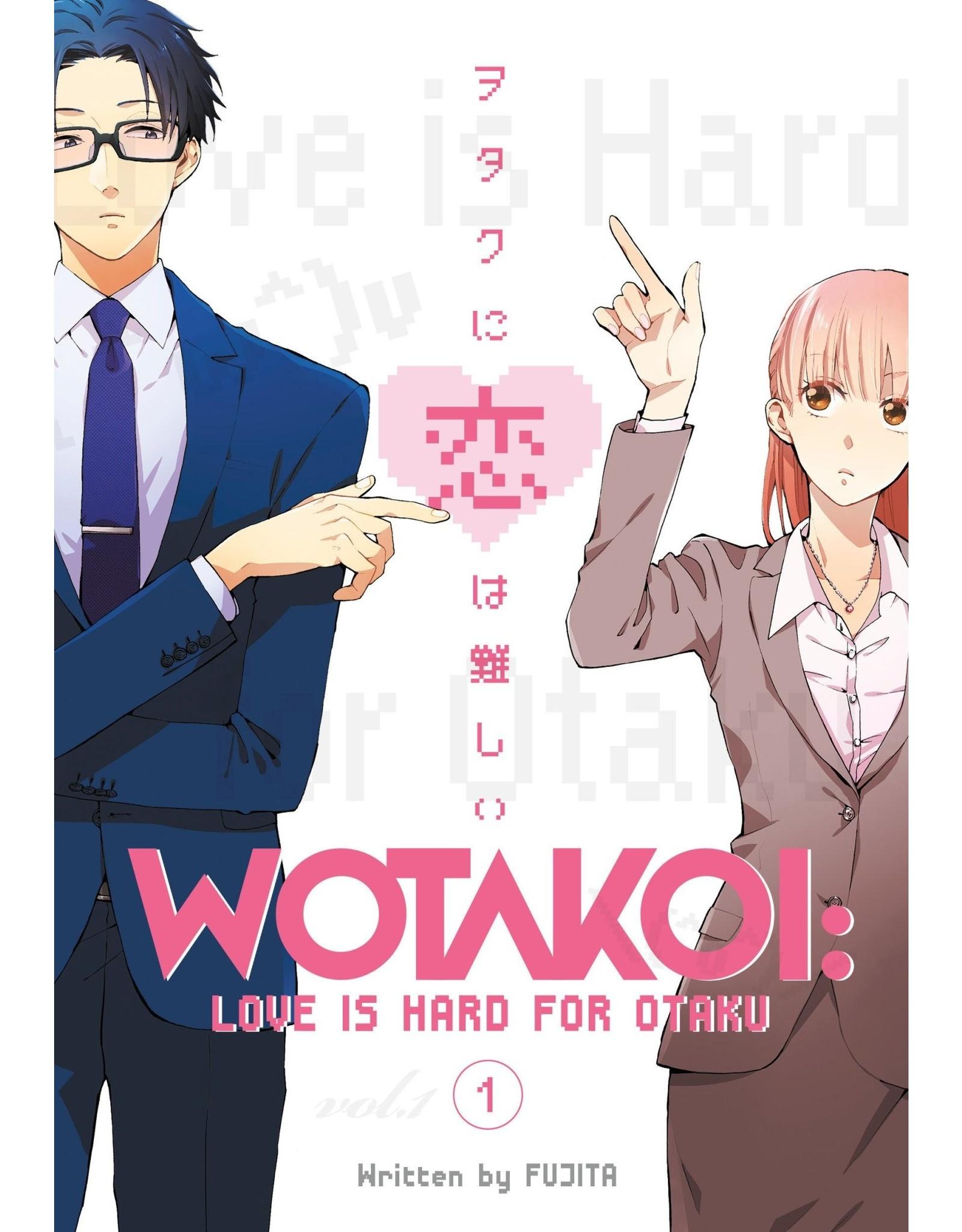 Wotakoi: Love is Hard for Otaku 1 (English)