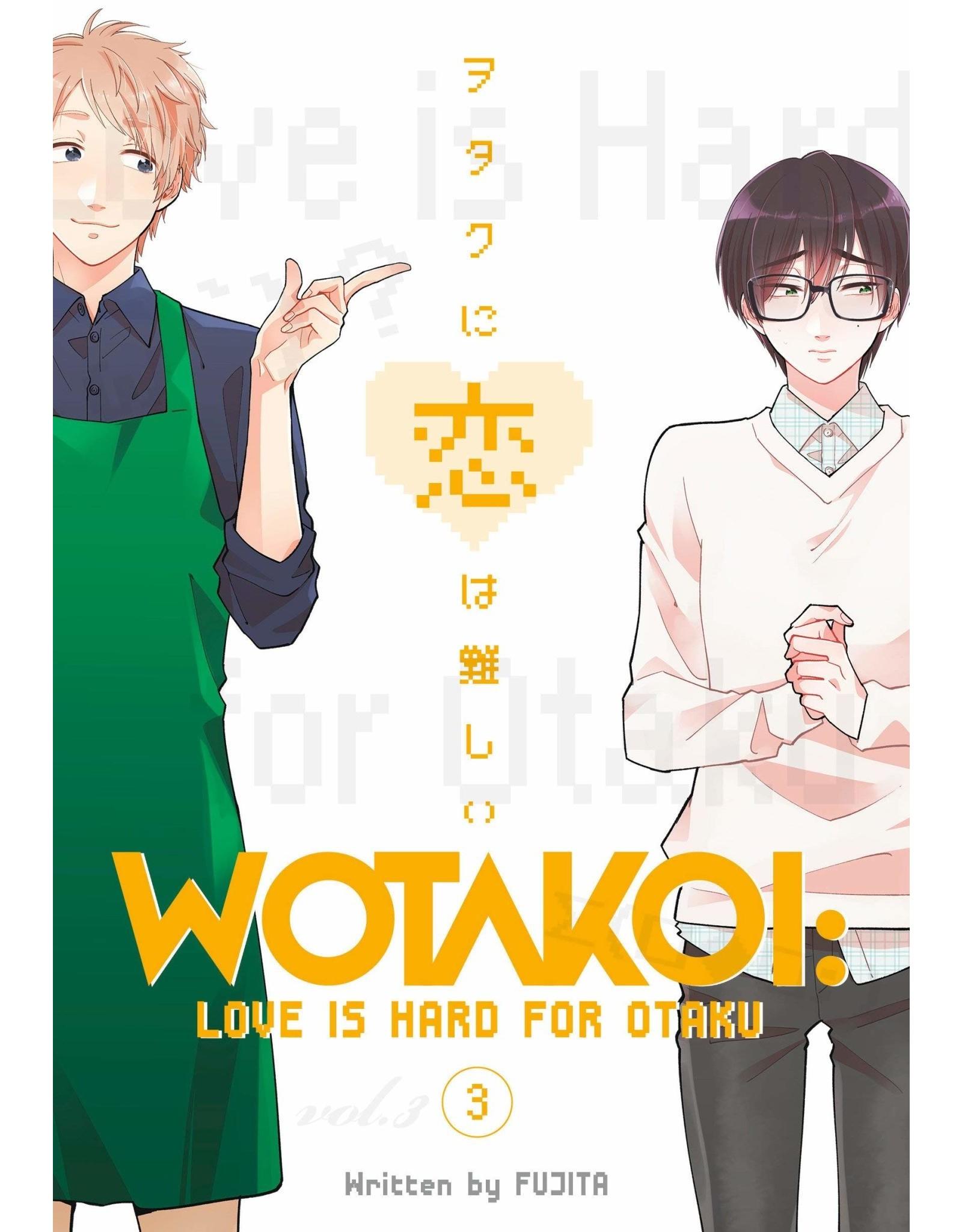Wotakoi: Love is Hard for Otaku 3 (English)