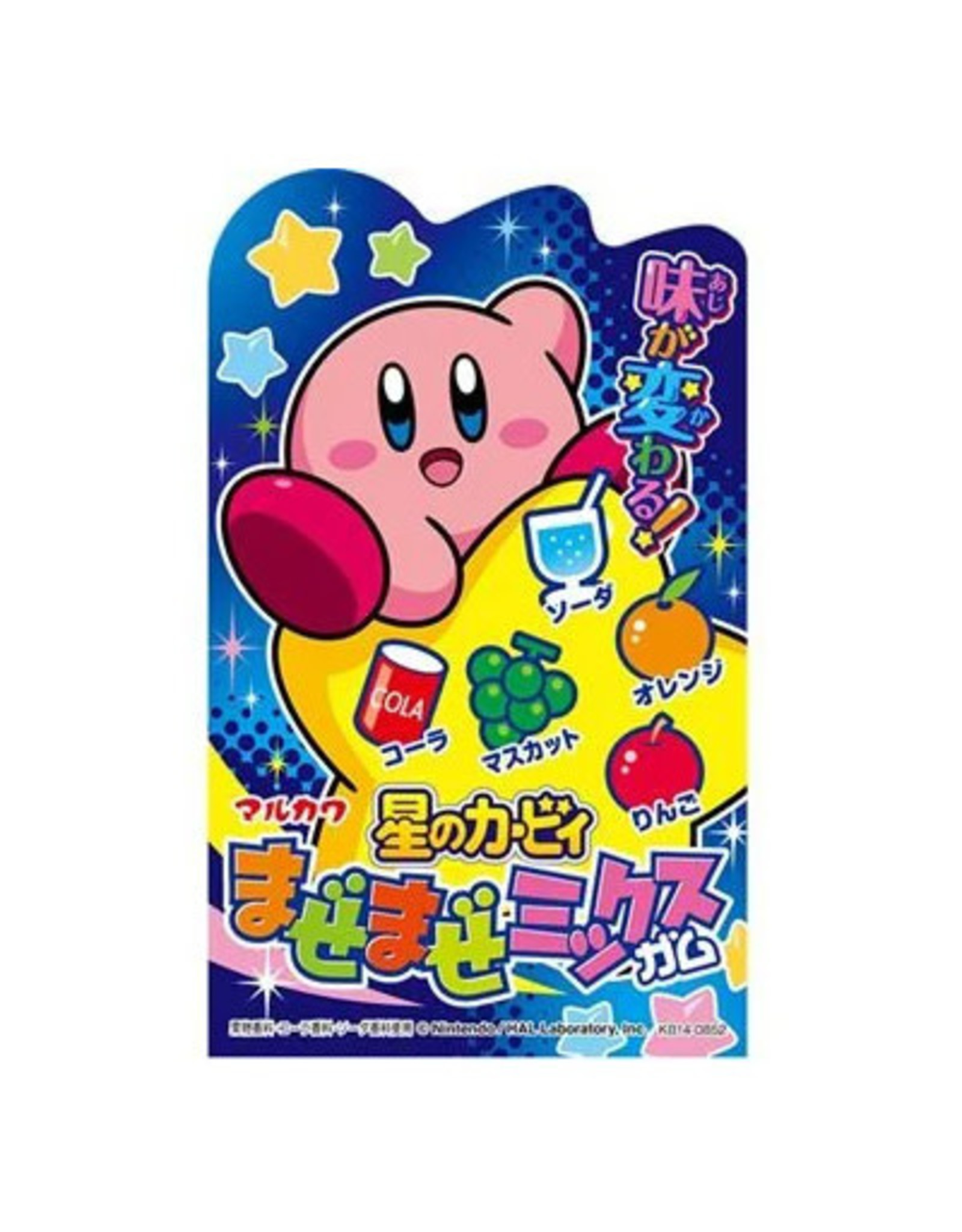 Kirby's Dream Land Mix 'n' Match Chewing Gum - 47g