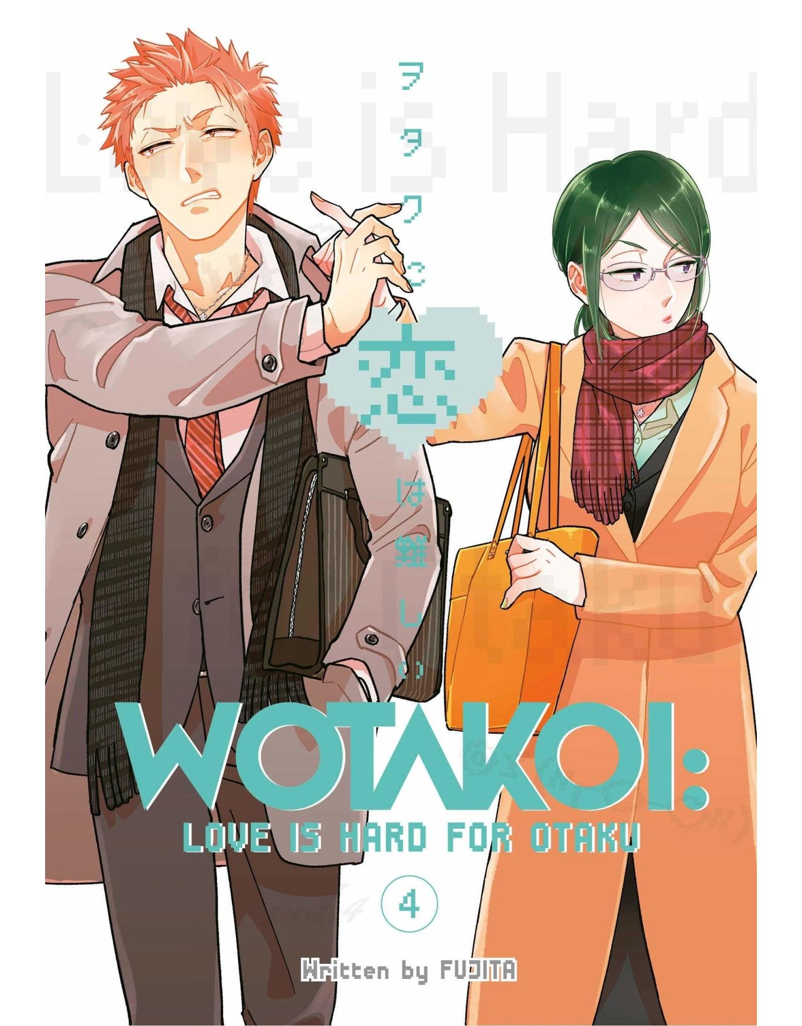 Wotakoi: Love is Hard for Otaku 4 (English)