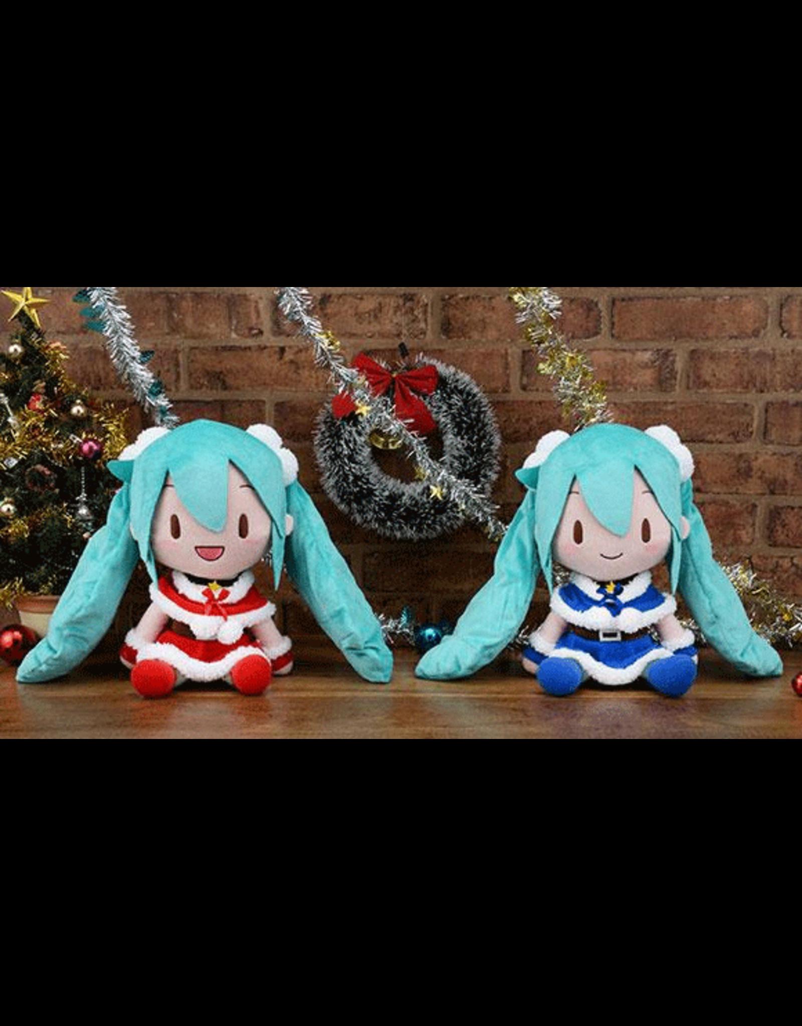 Hatsune Miku Christmas Plush - 30cm - Blue
