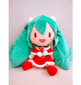 Hatsune Miku Christmas Plush - 30cm - Red