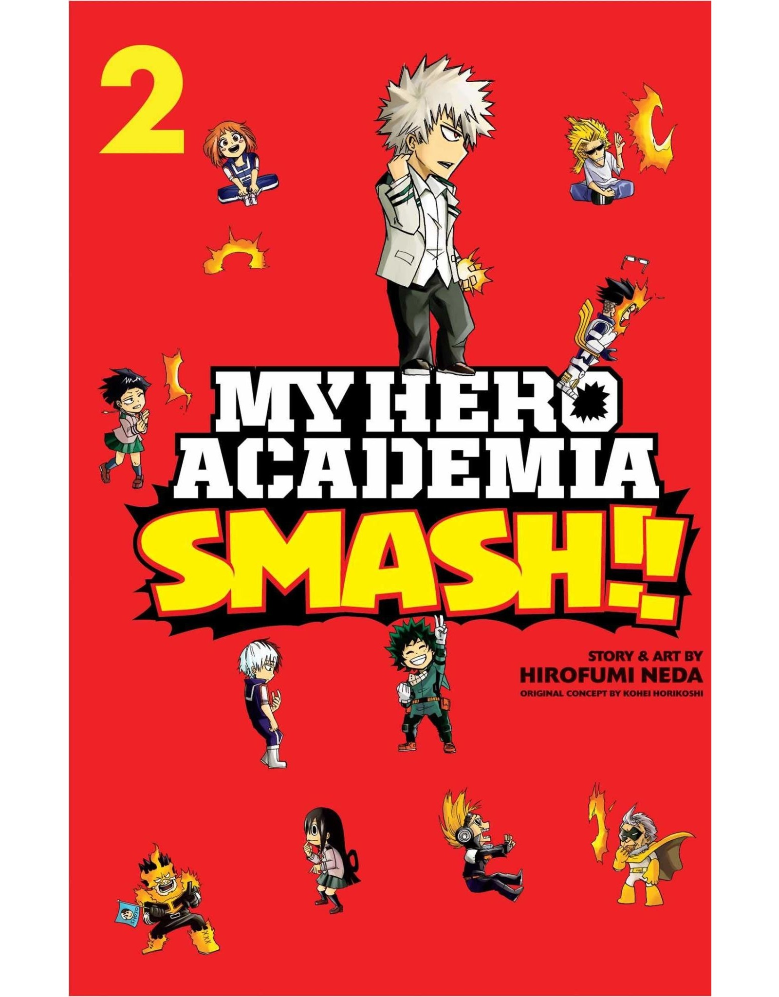 My Hero Academia Smash!! Volume 02 (English)