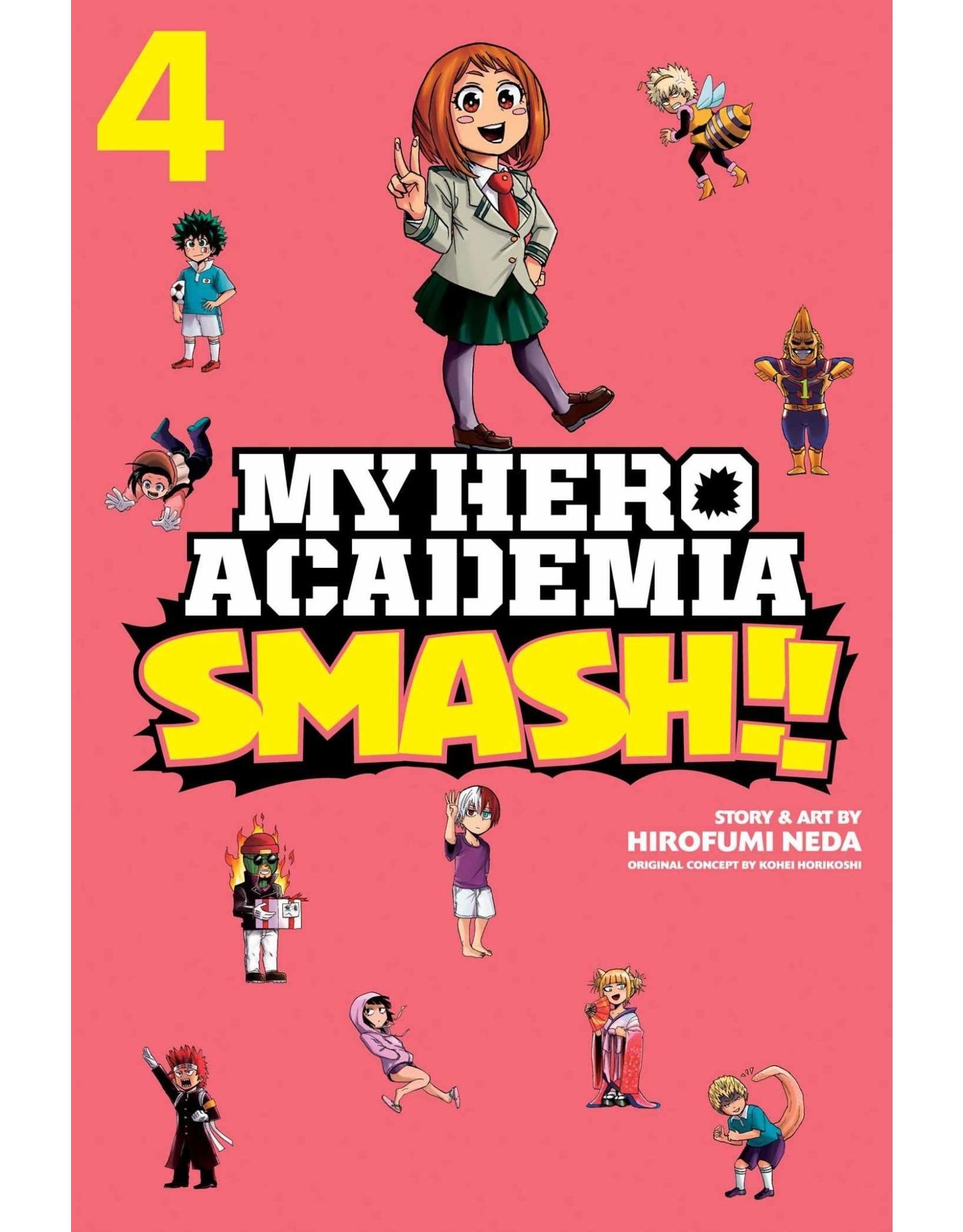 My Hero Academia Smash!! Volume 04 (Engelstalig)