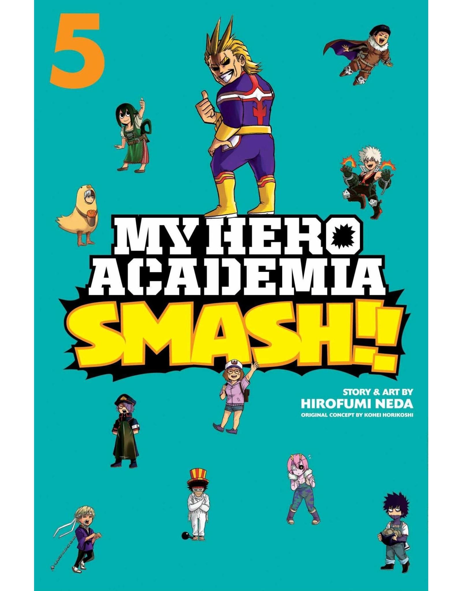 My Hero Academia Smash!! Volume 05 (Engelstalig)