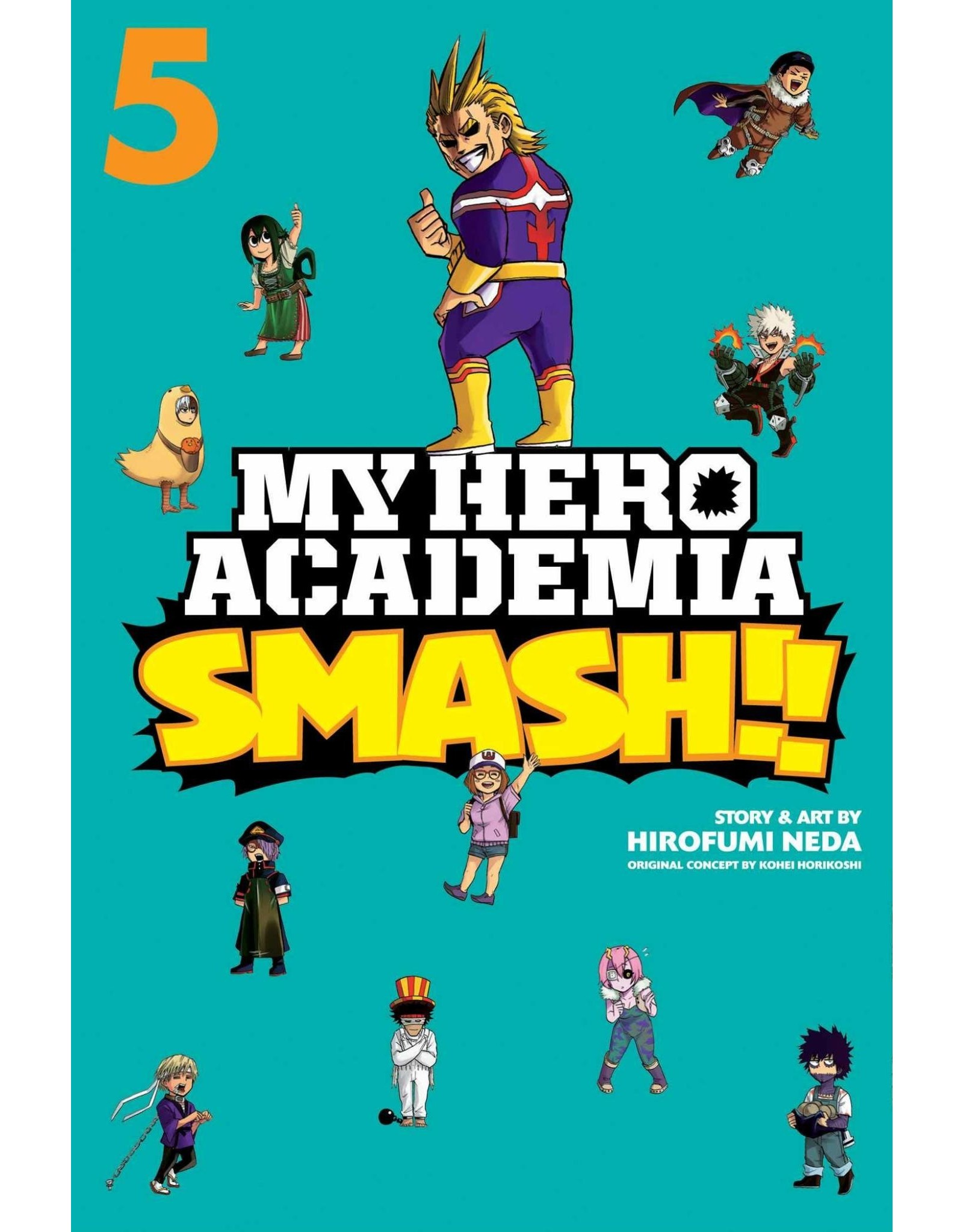 My Hero Academia Smash!! Volume 05 (English)