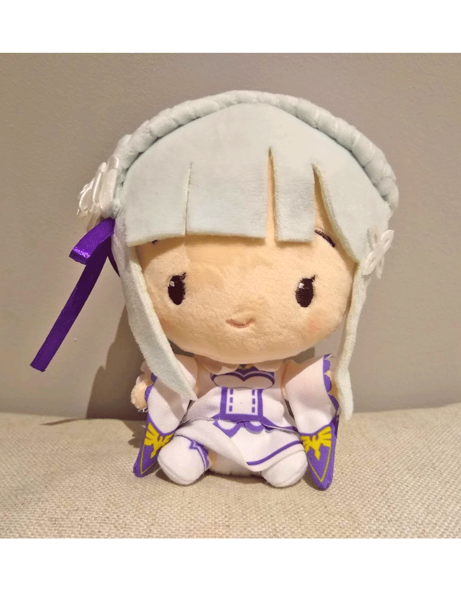 Re:Zero Cute plush - Emilia - 15cm