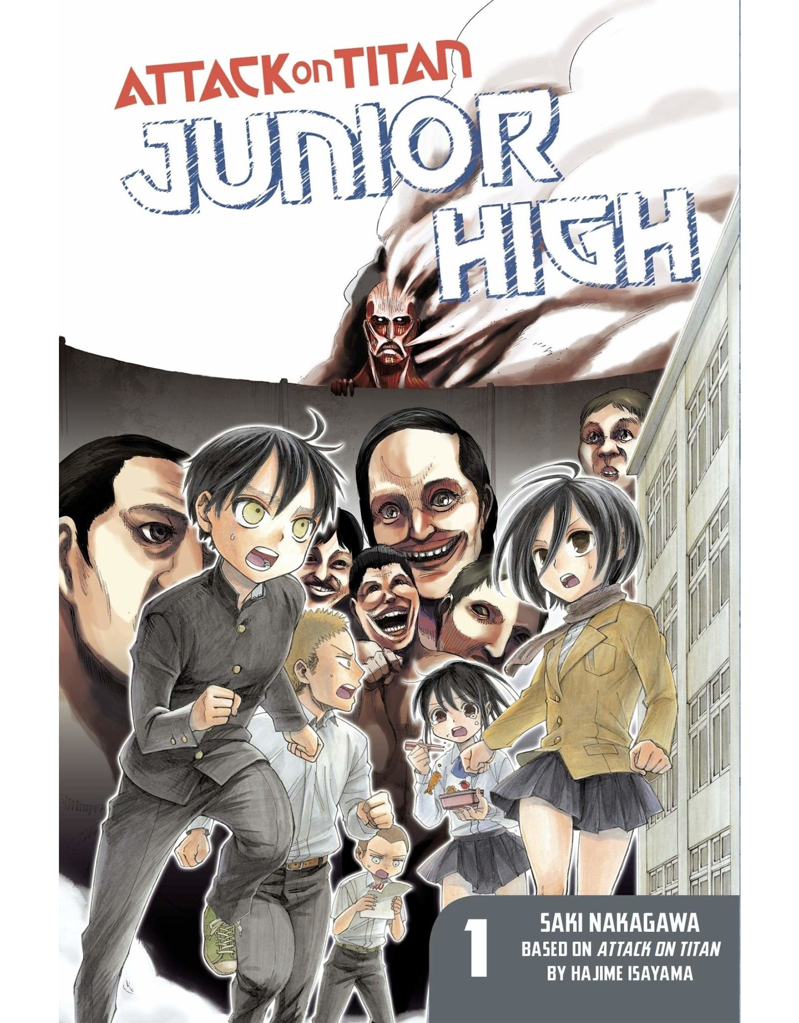 Attack on Titan: Junior High 01 (Engelstalig)