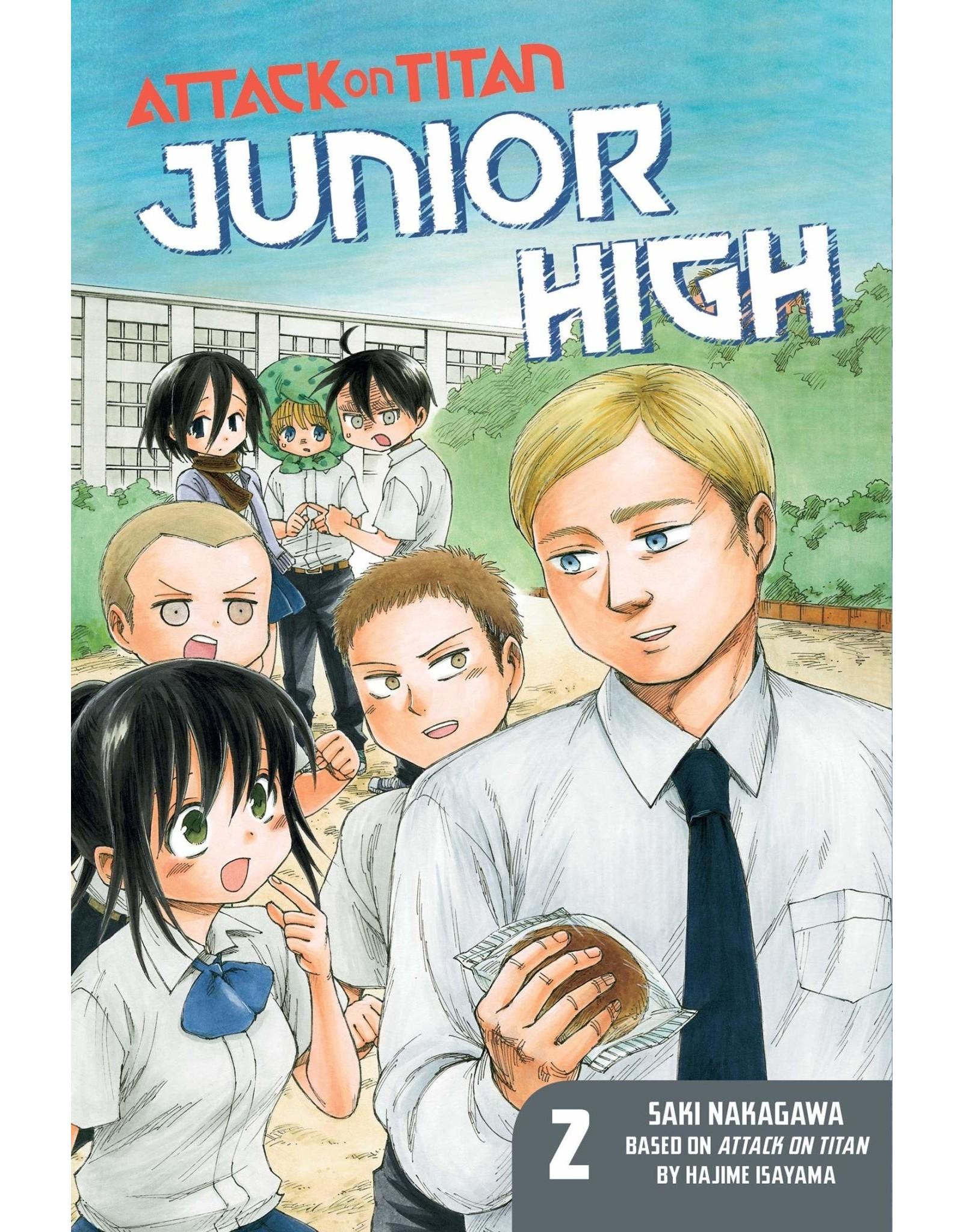 Attack on Titan: Junior High 02 (Engelstalig)