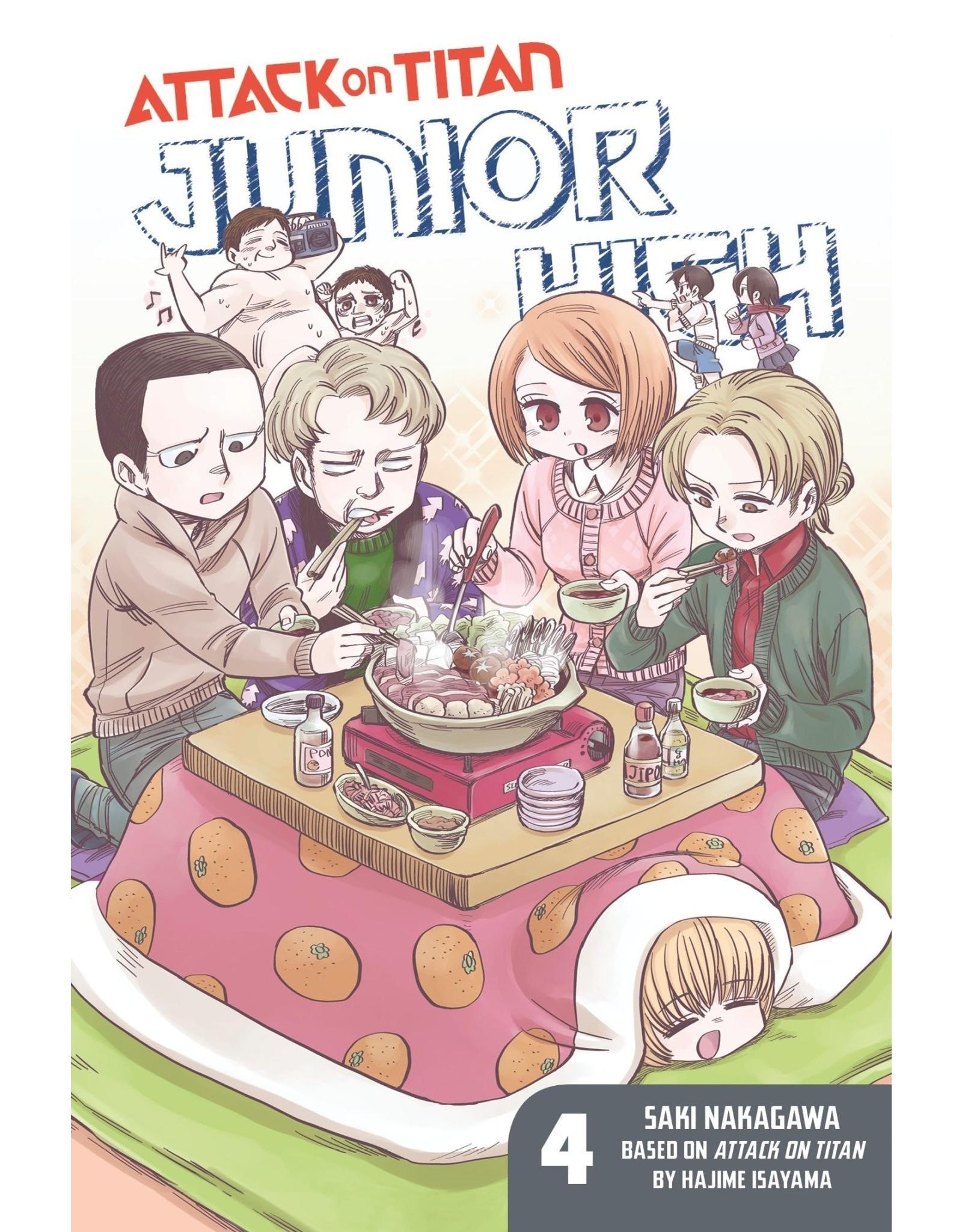 Attack on Titan: Junior High 04 (Engelstalig)