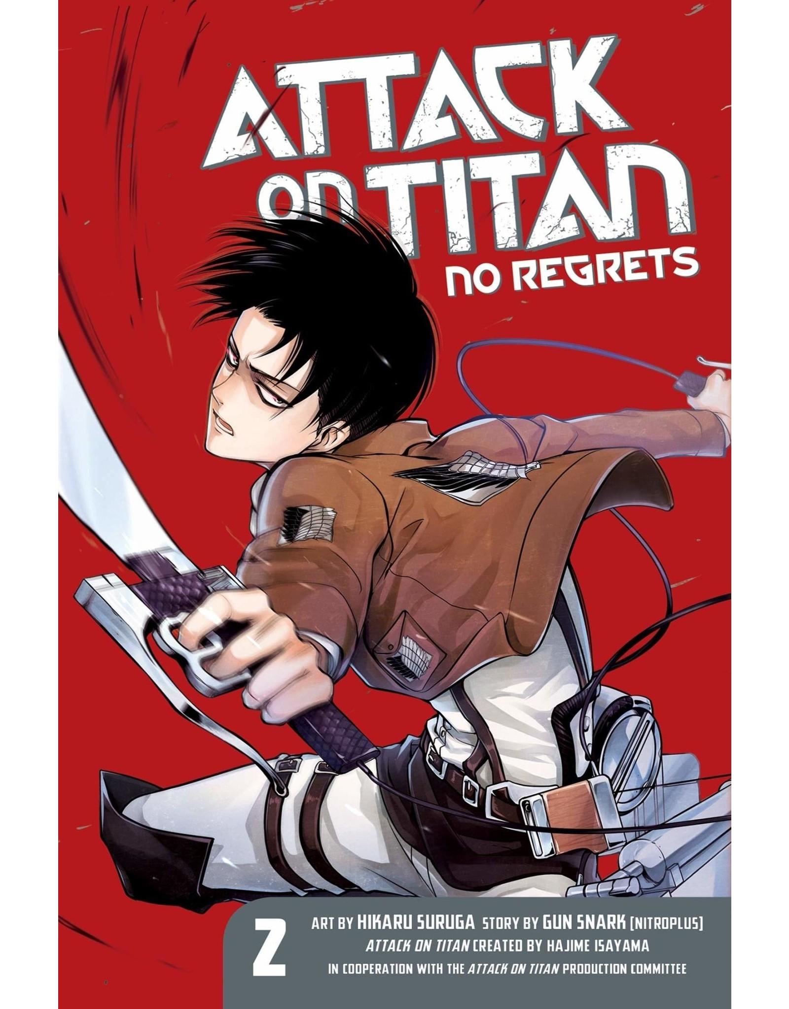 Attack on Titan: No Regrets 02 (Engelstalig)