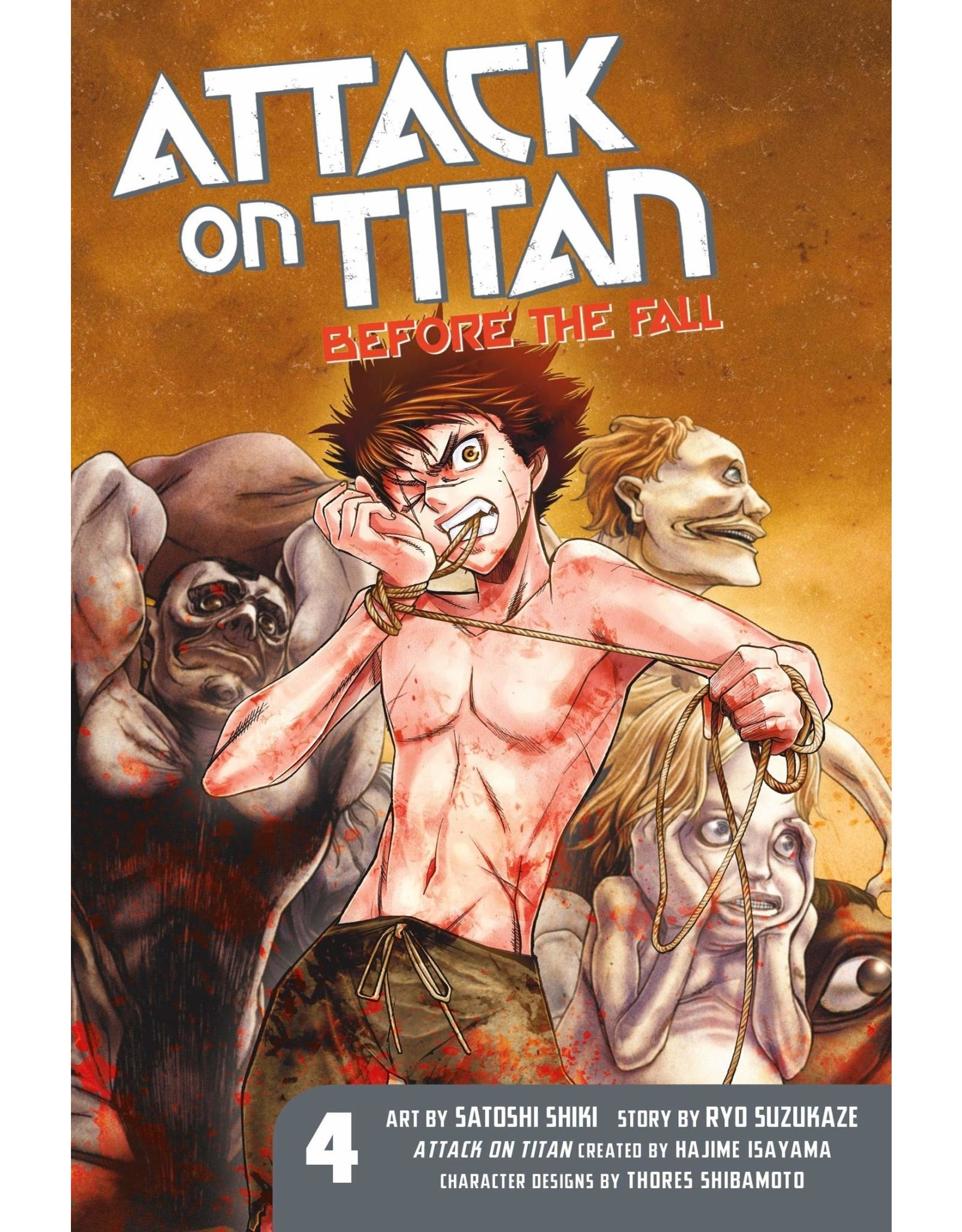 Attack on Titan: Before The Fall 04 (Engelstalig)