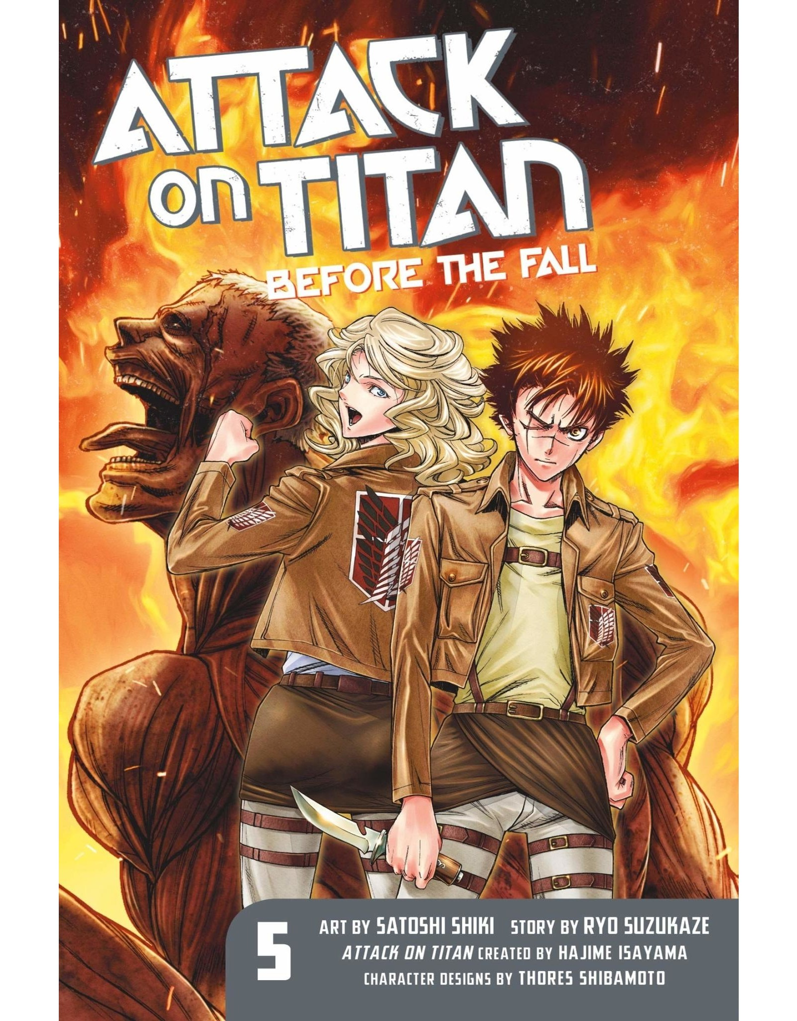 Attack on Titan: Before The Fall 05 (English)