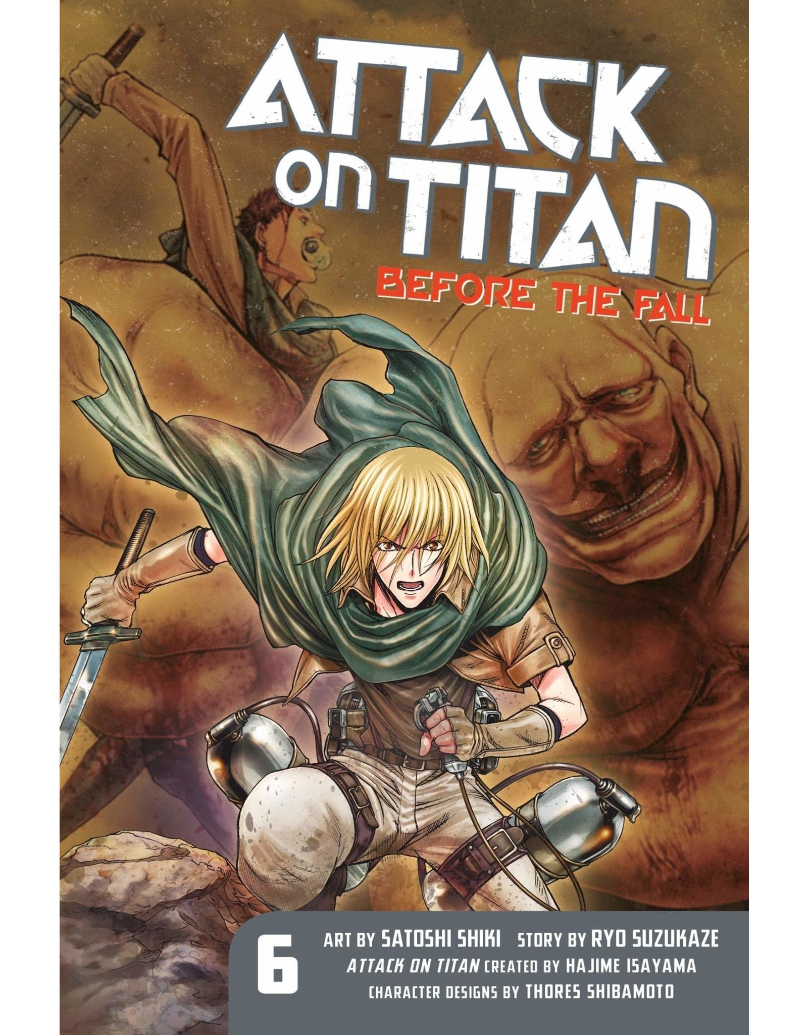 Attack on Titan: Before The Fall 06 (Engelstalig)