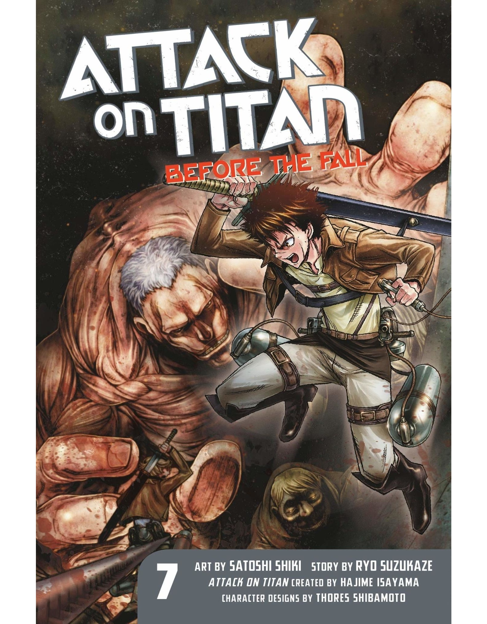 Attack on Titan: Before The Fall 07 (Engelstalig)