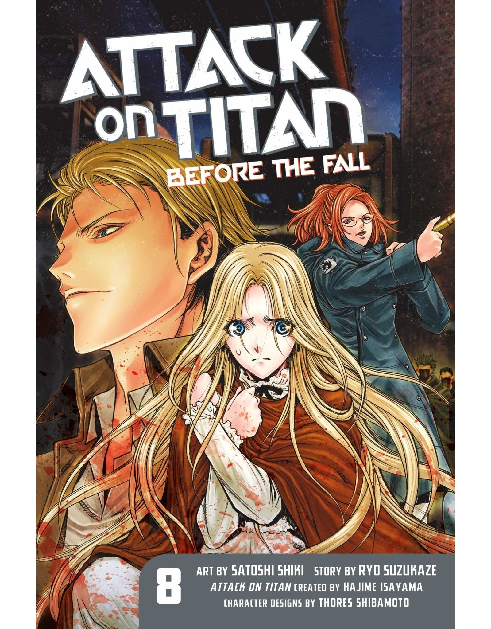Attack on Titan: Before The Fall 08 (Engelstalig)