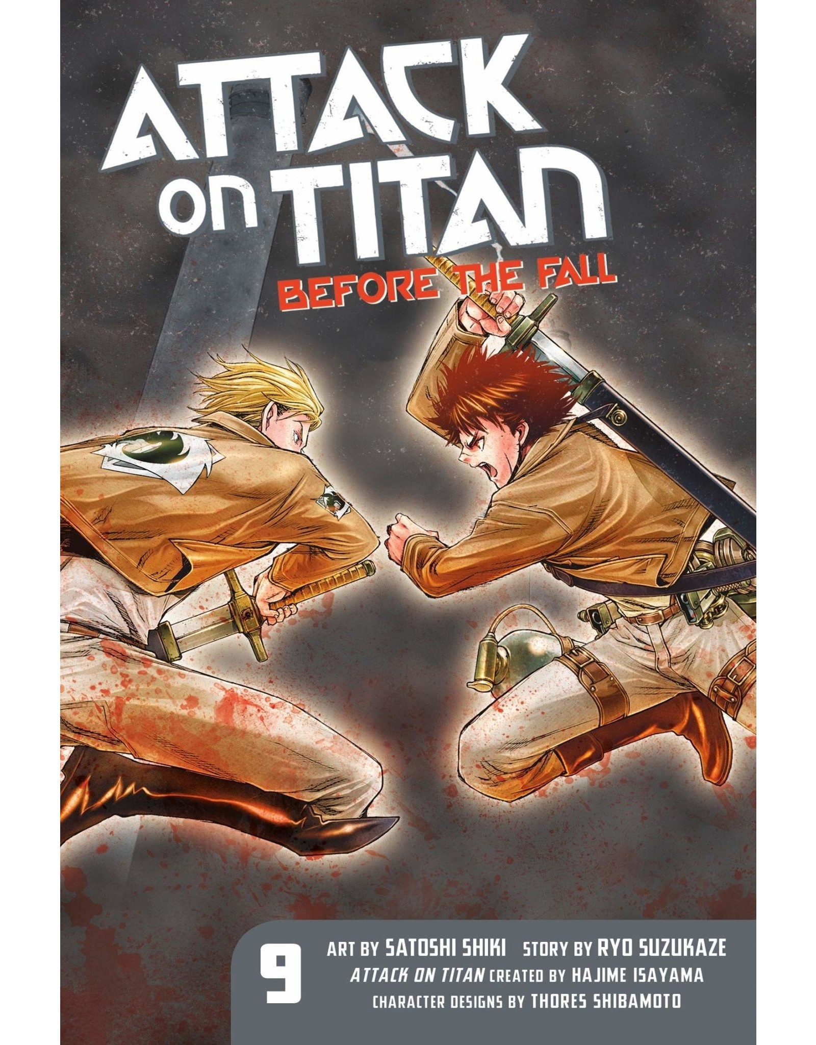 Attack on Titan: Before The Fall 09 (Engelstalig)