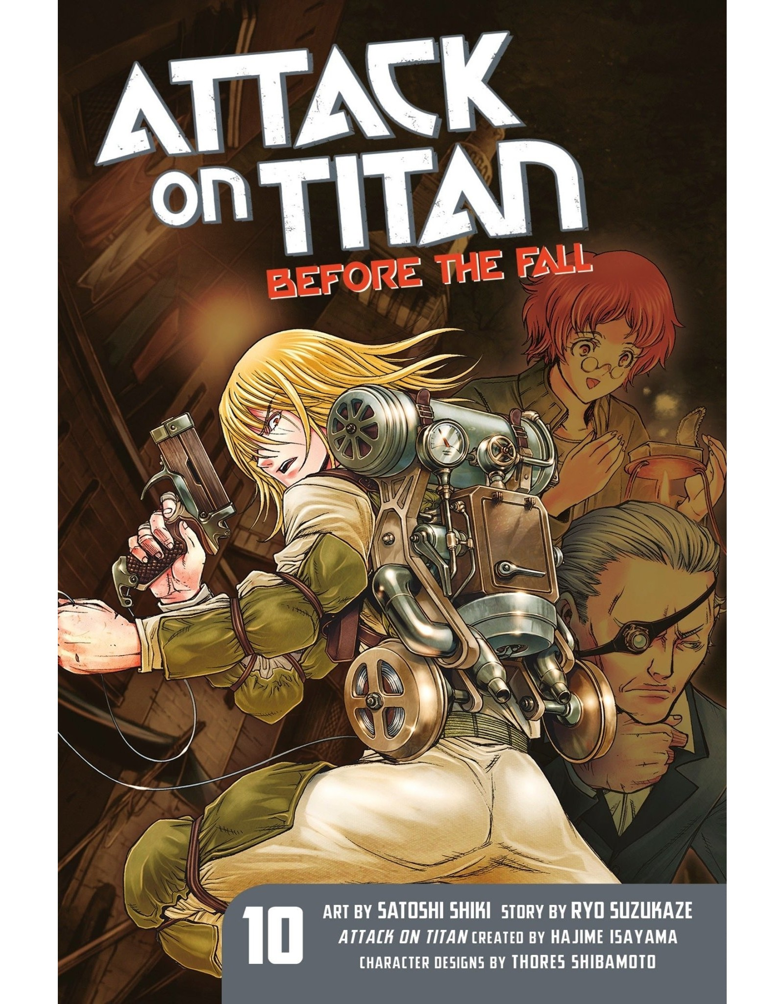 Attack on Titan: Before The Fall 10 (Engelstalig)