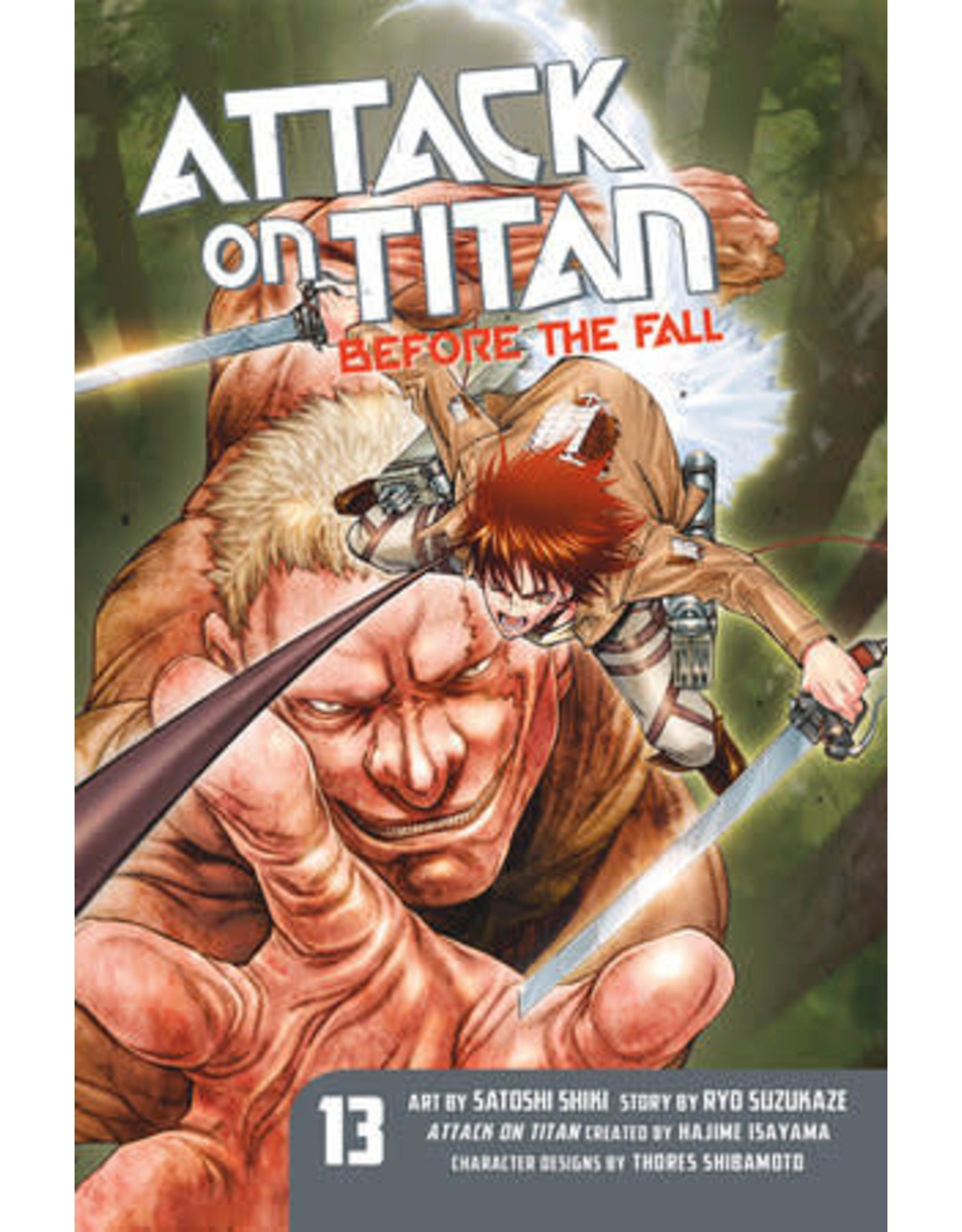 Attack on Titan: Before The Fall 13 (Engelstalig)