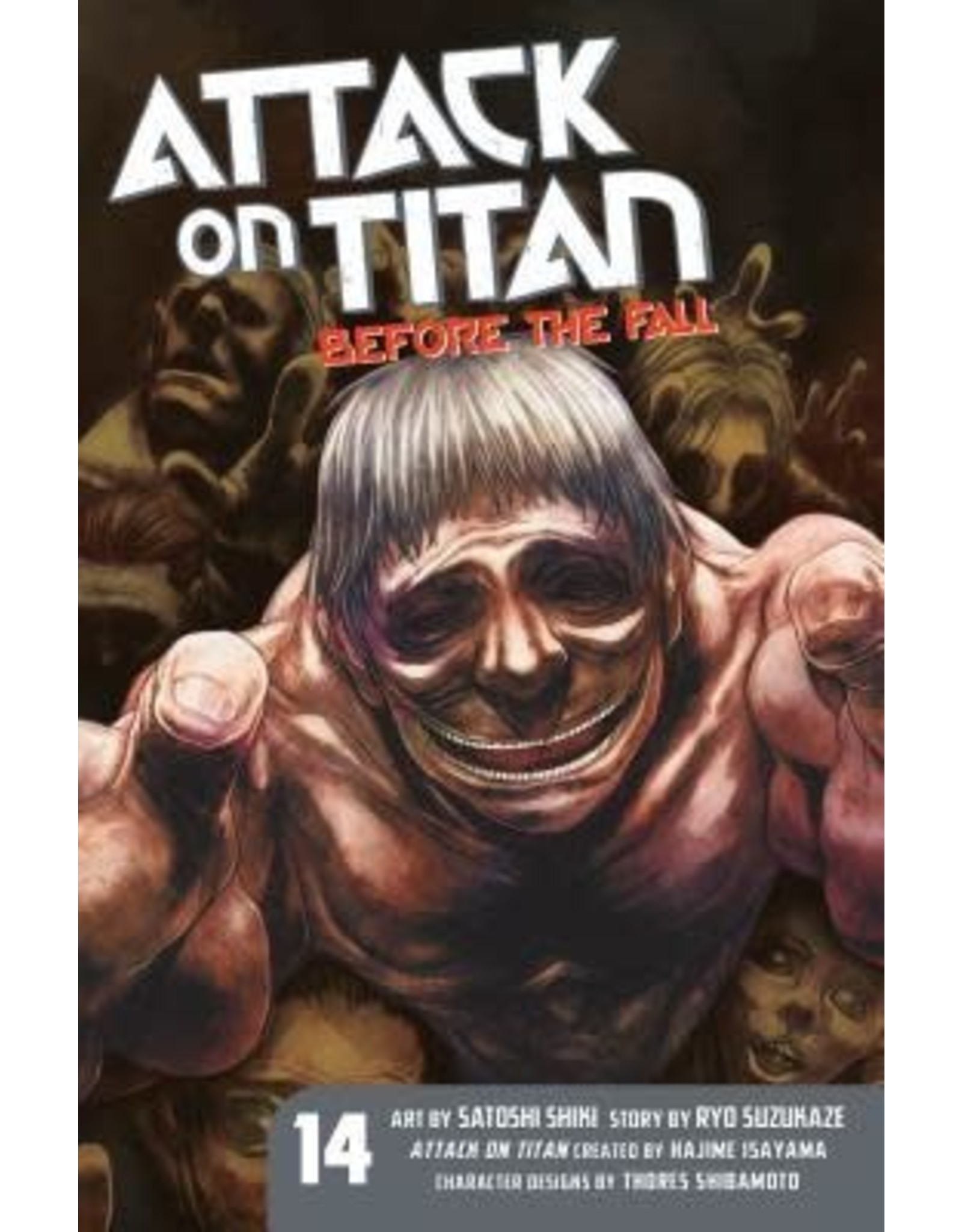 Attack on Titan: Before The Fall 14 (Engelstalig)