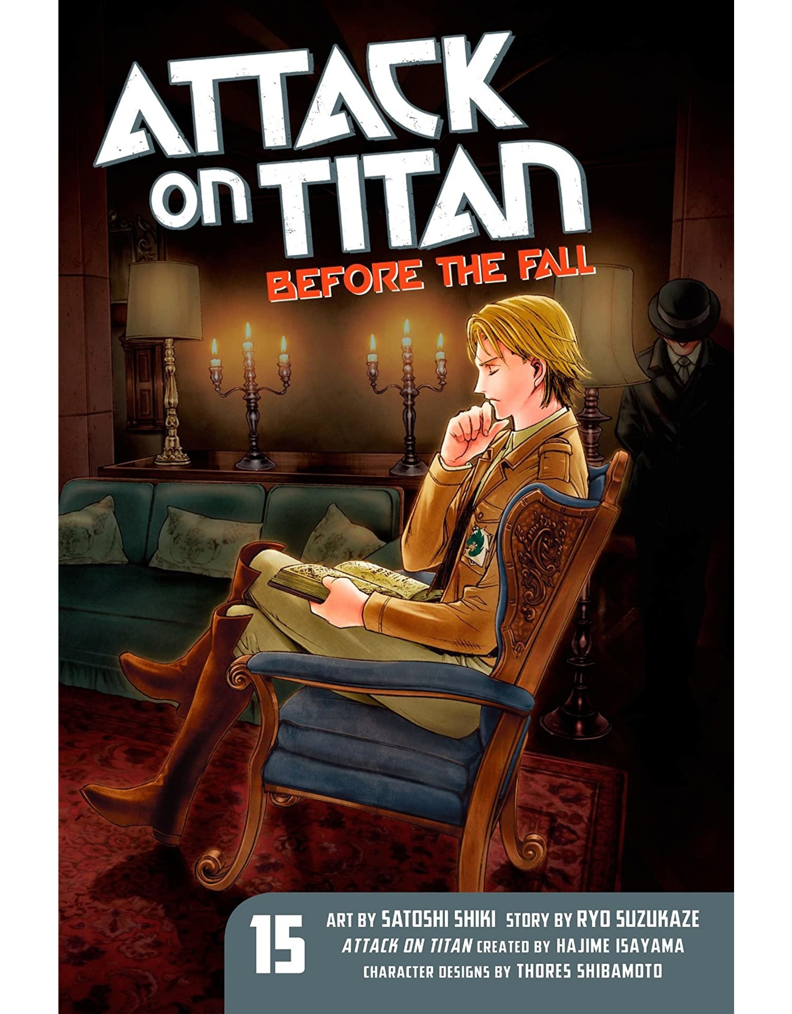 Attack on Titan: Before The Fall 15 (Engelstalig)