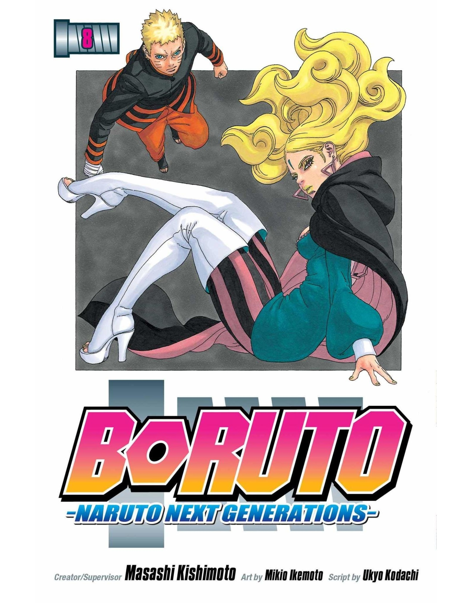 Boruto 8 (English)