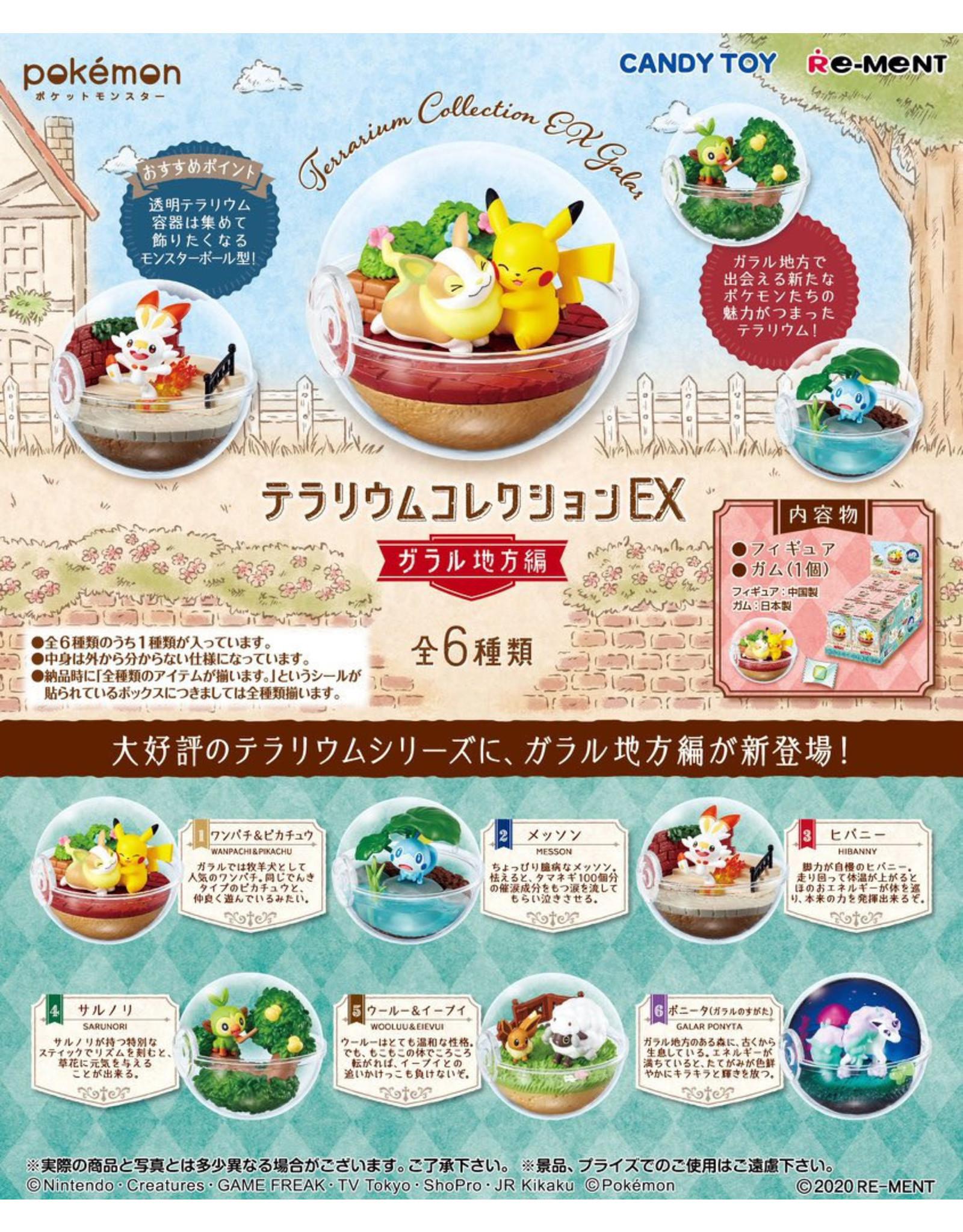 Re-Ment - Pokemon - Terrarium Collection Ex - Garal Region - 1 random item