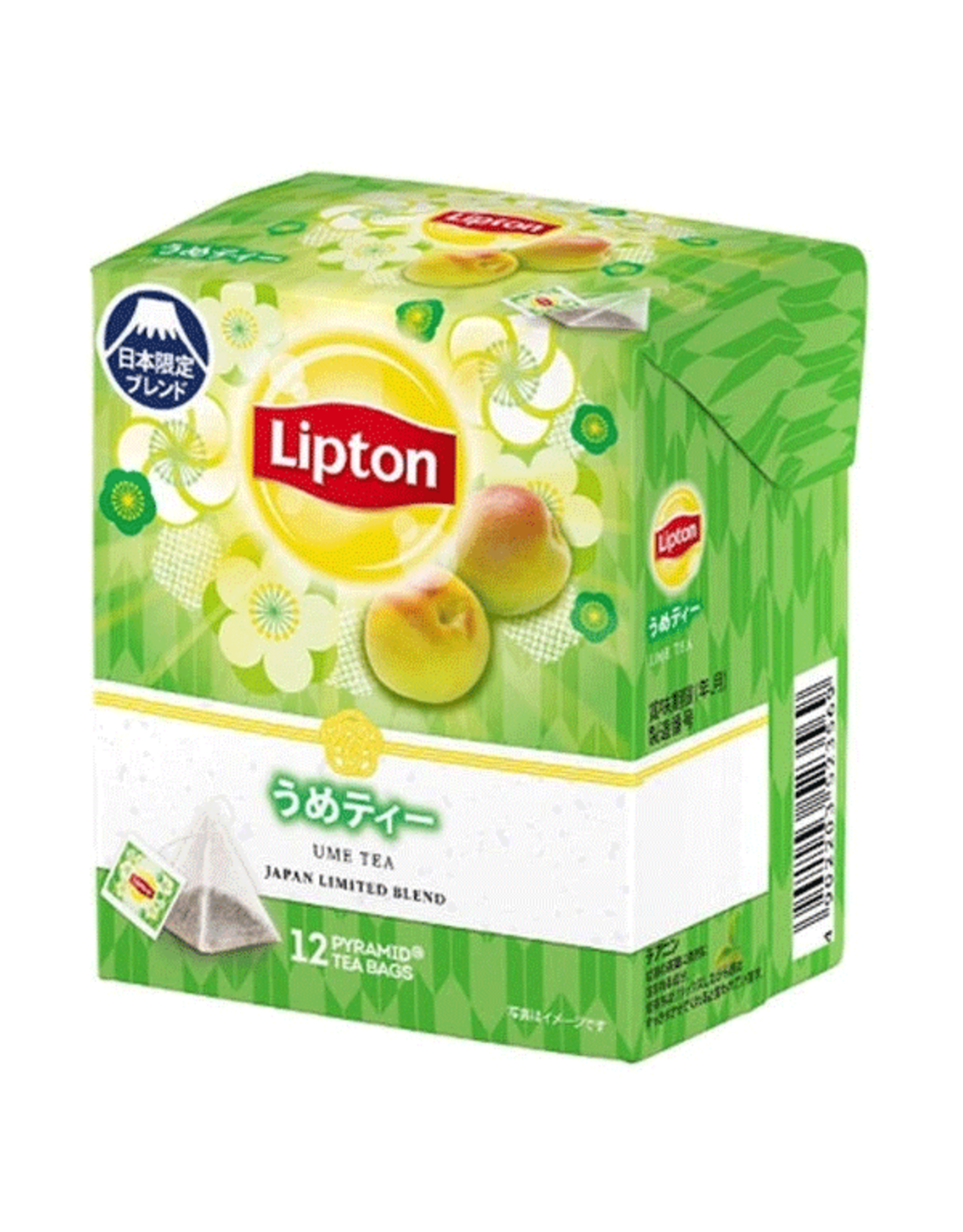 Lipton Ume Tea Pyramid Bag