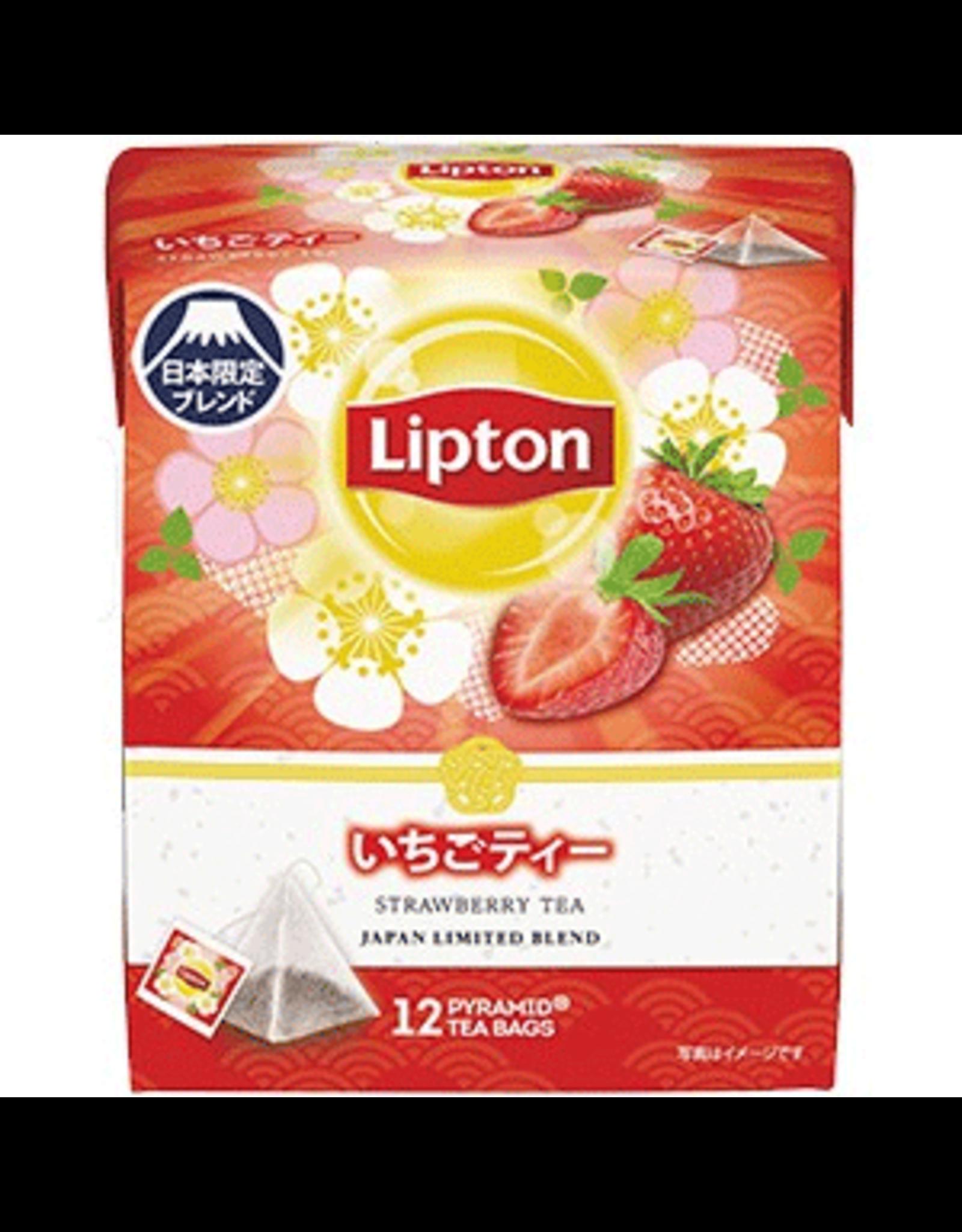 Lipton Strawberry Tea Pyramid Bag