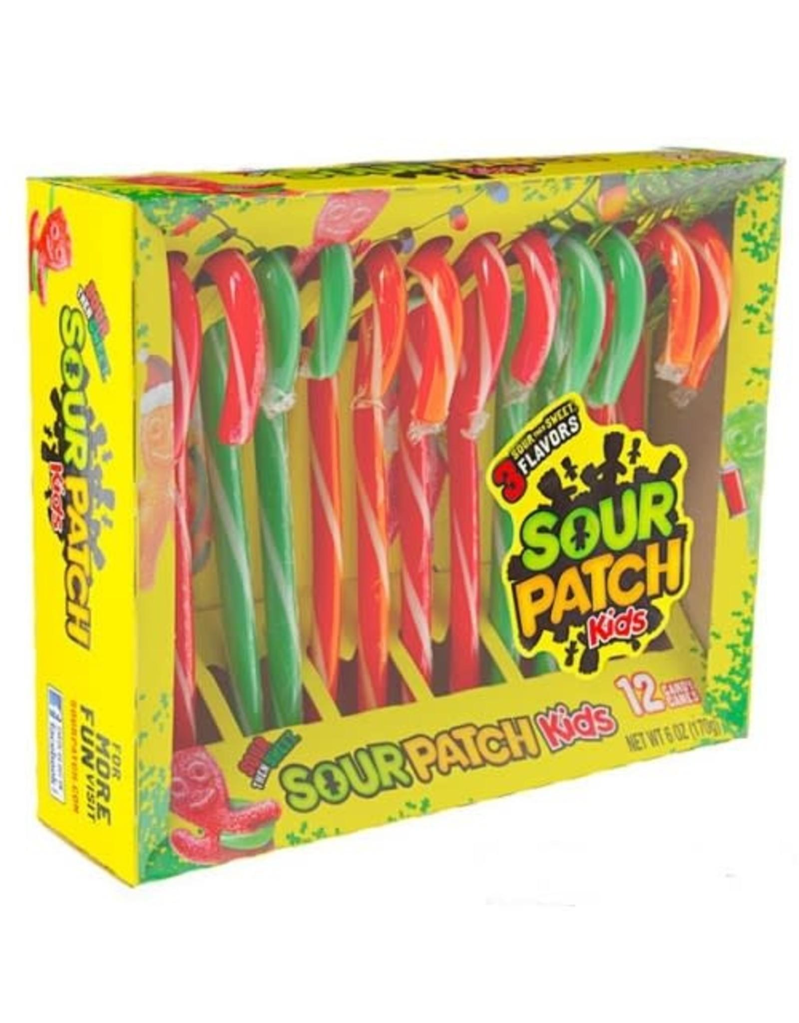 Sour Patch Kids Candy Canes - Doos van 12 - 150g