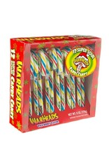 Warheads Super Sour Candy Canes - Box of 12 - 170g