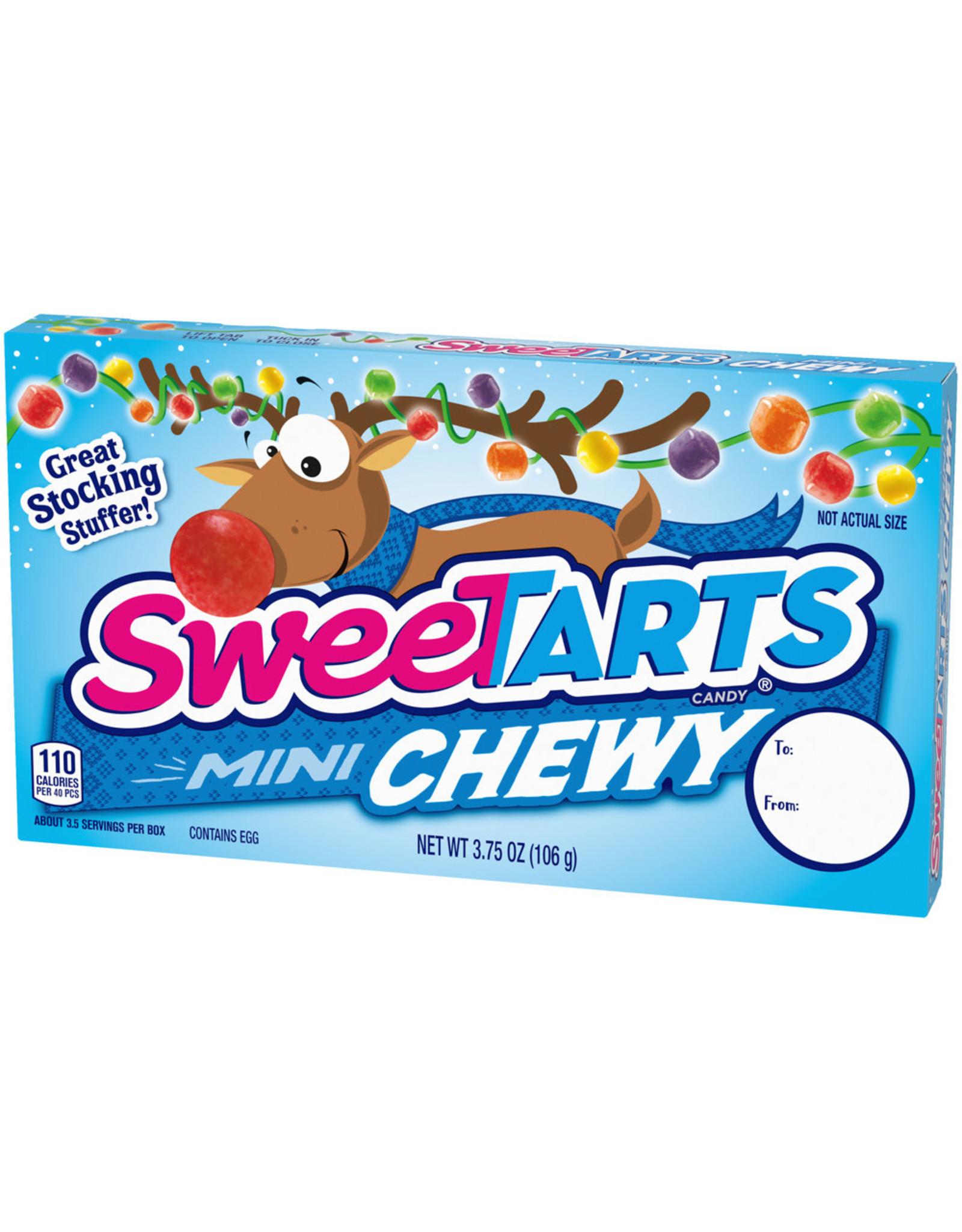 Sweetarts Holidays Mini Chewy - 106g
