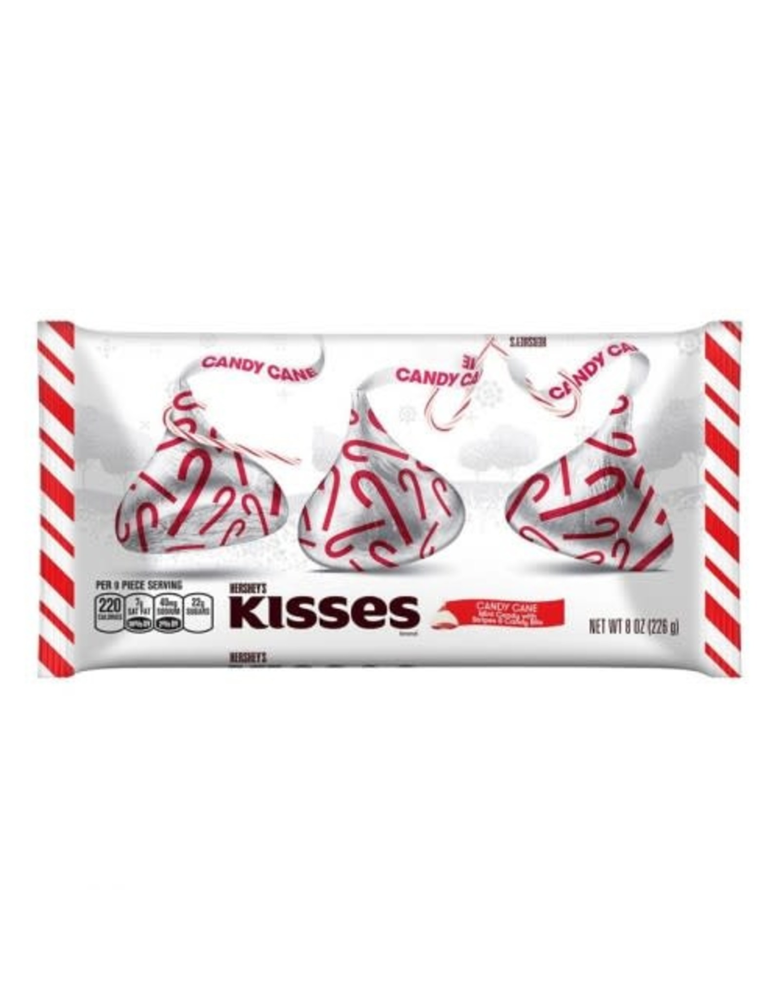 Hershey's Candy Cane Kisses - 226g