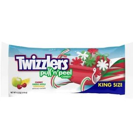 Twizzlers Holiday Pull N Peel King Size - 119g