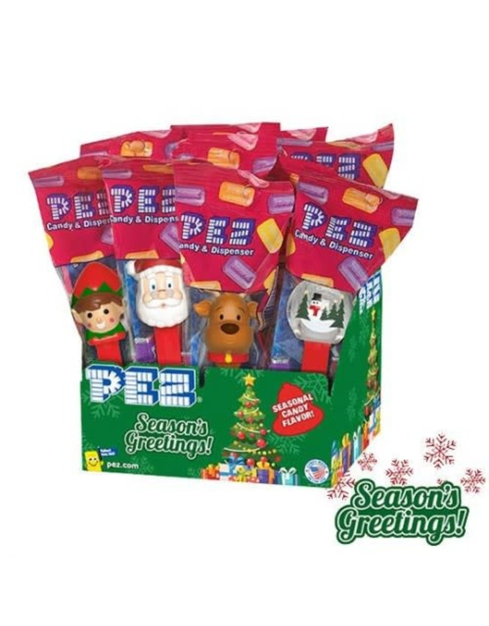 PEZ Christmas Poly Pack