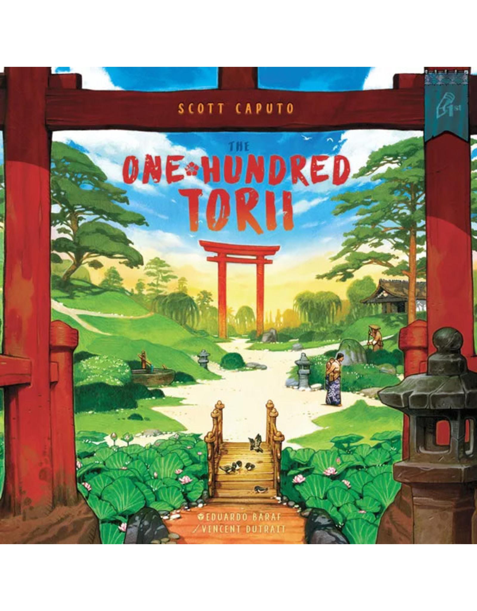 The One Hundred Torii - Boardgame (Engelstalig)