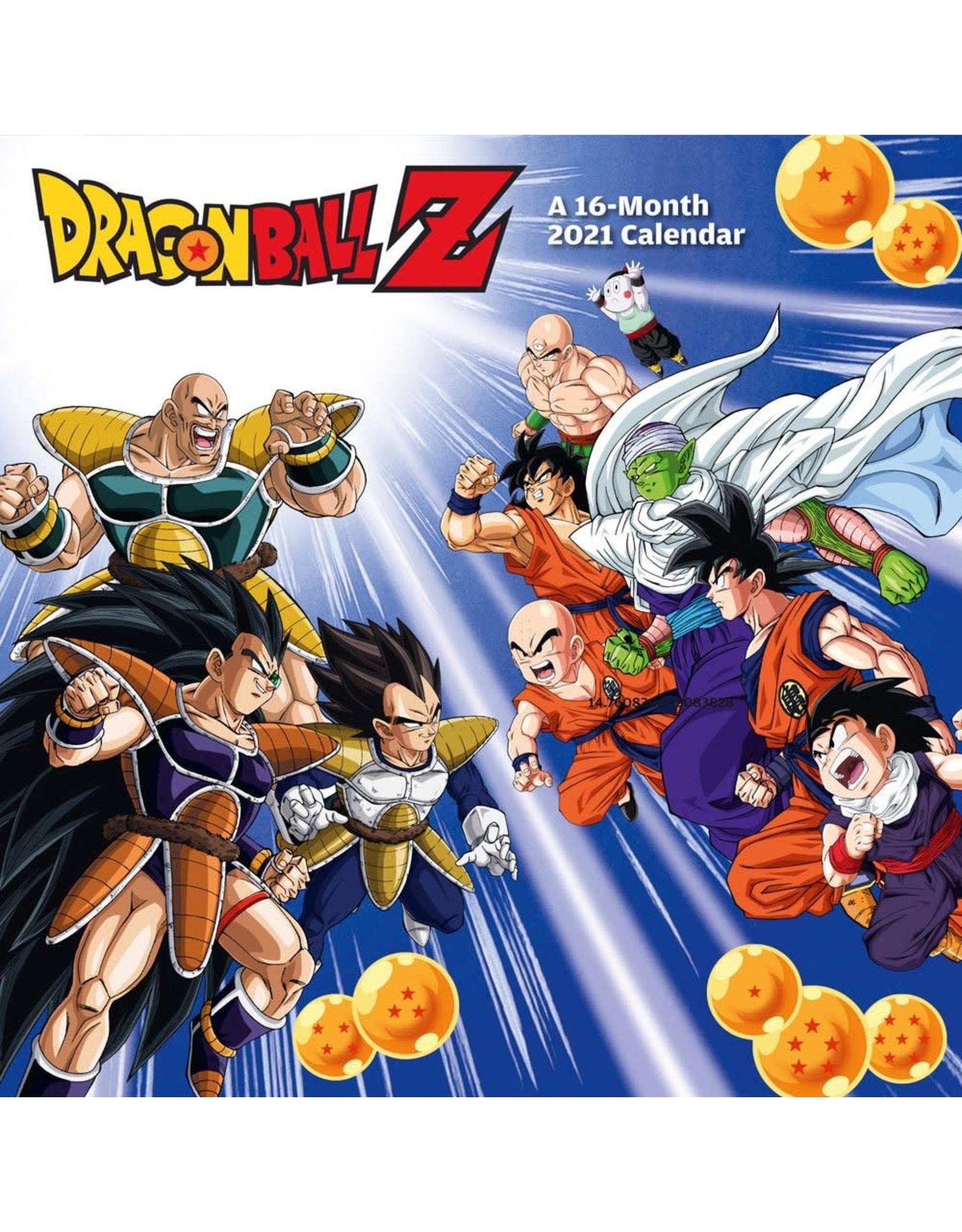 Dragon Ball Z Calendar 2021 (English Version)