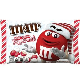 M&M's White Chocolate Peppermint - 210.9g