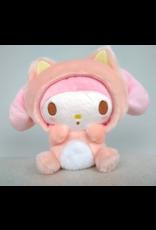 My Melody - Sitting - Nakayoshi Neko plush - 18cm - Sanrio Characters