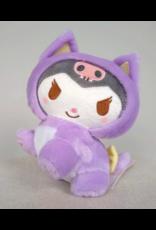 Kuromi - Sitting - Nakayoshi Neko plush - 18cm - Sanrio Characters