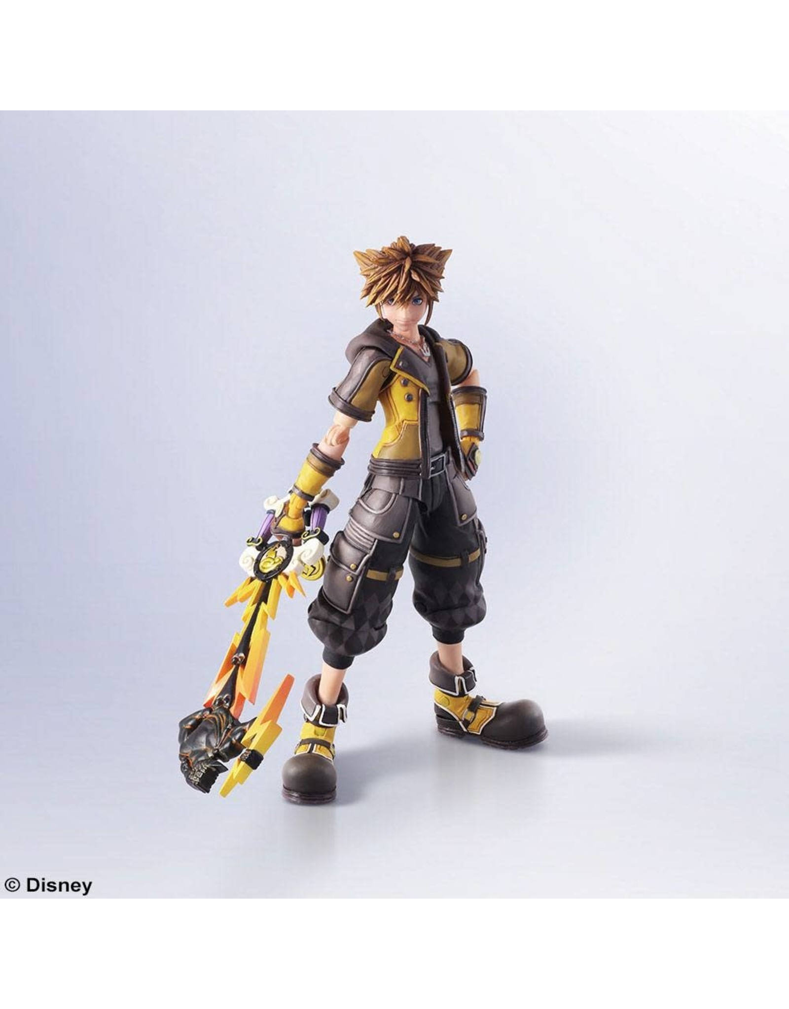 Kingdom Hearts III - Sora - Bring Arts Action Figure Sora Guardian Form Version - 16cm