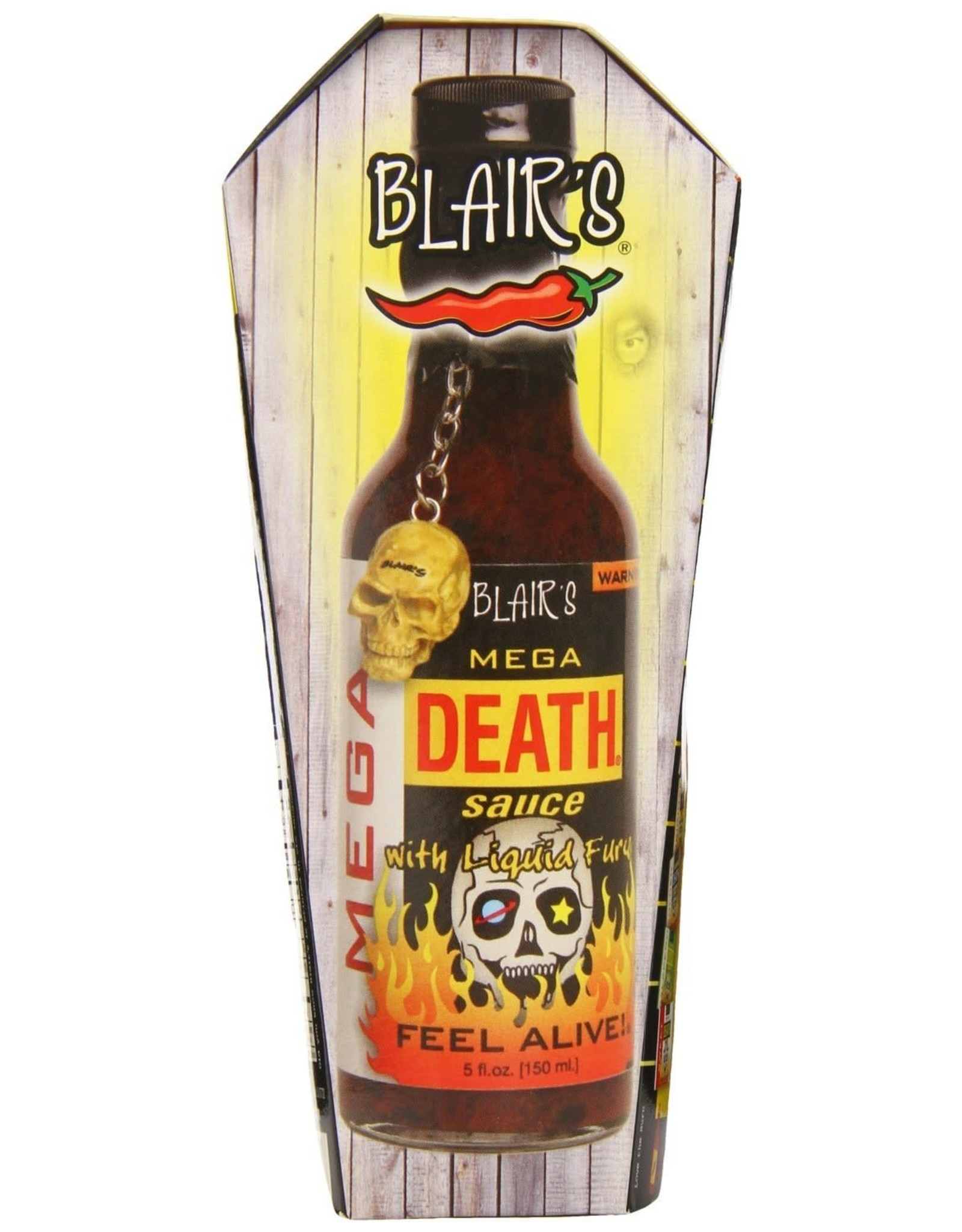 Blair's Mega Death Sauce with Liquid Rage - 150ml