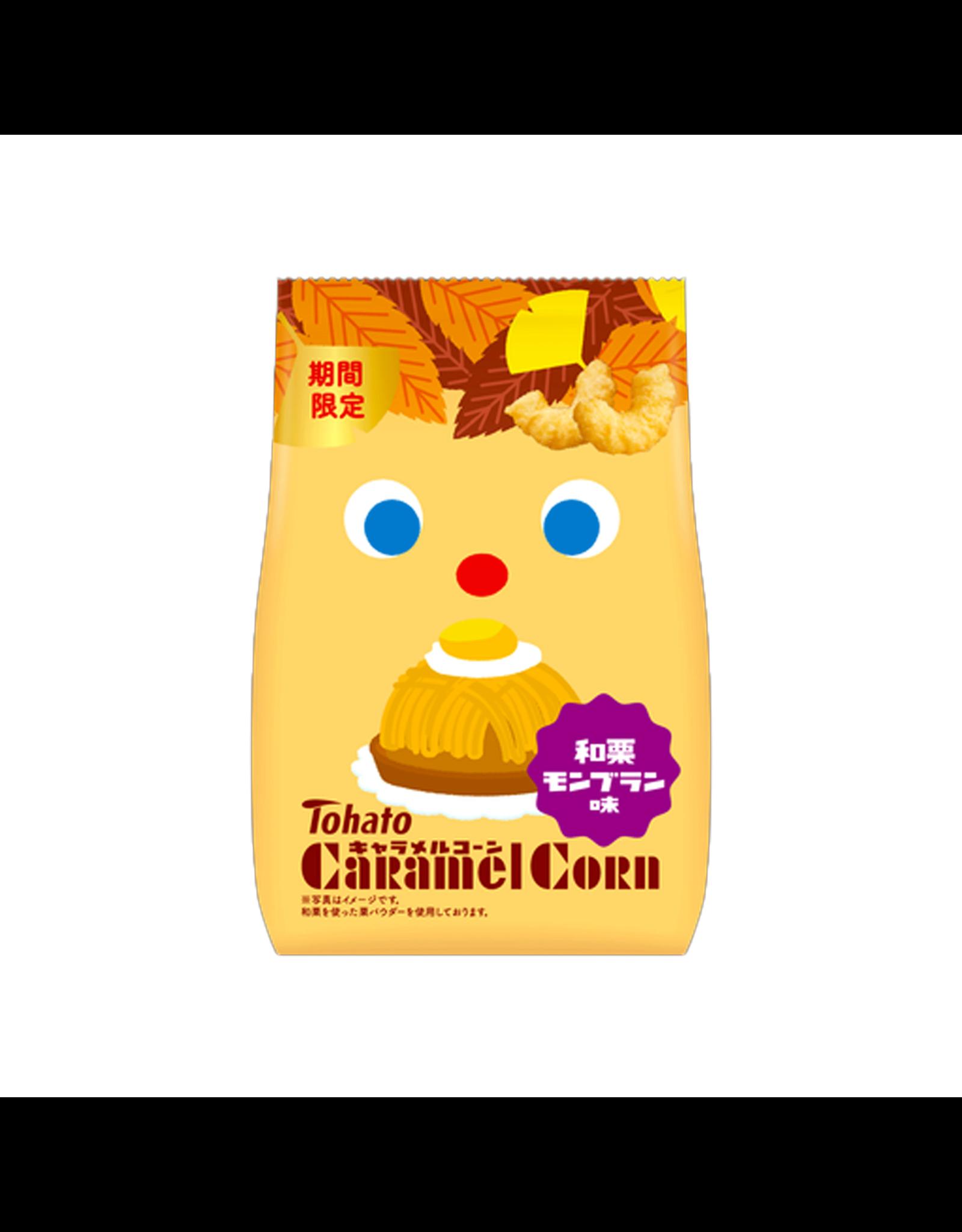 Caramel Corn Chestnut Mont Blanc