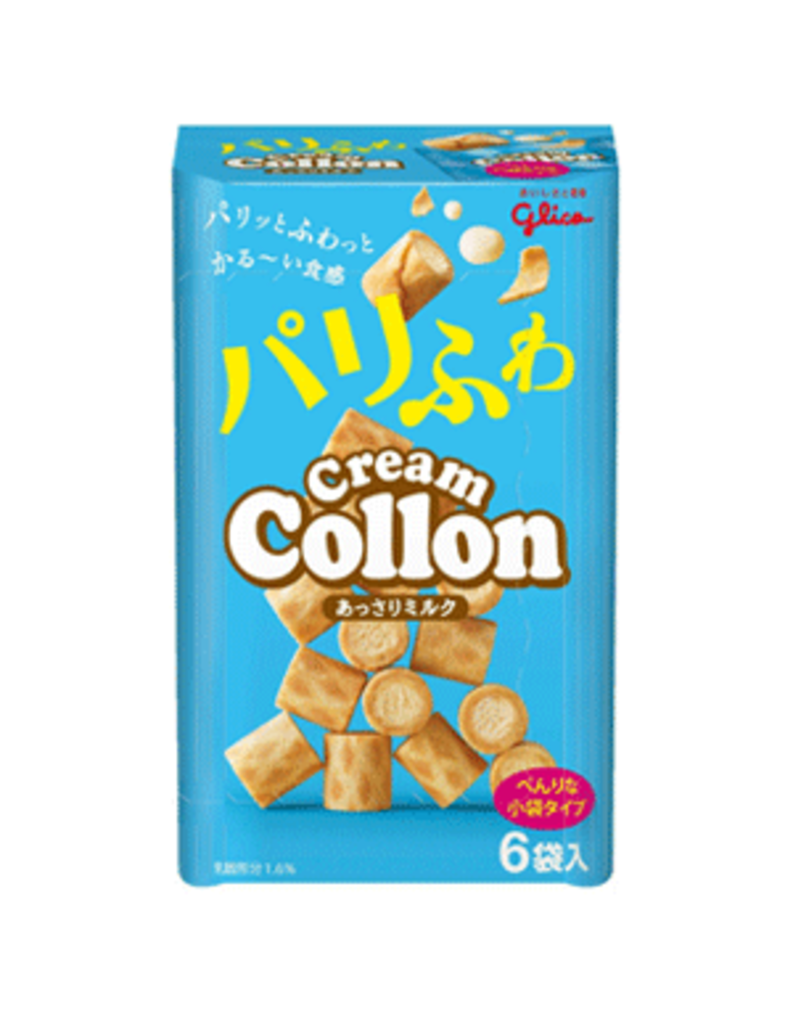 Cream Collon - Light Milk Cream Biscuits - 6 pack