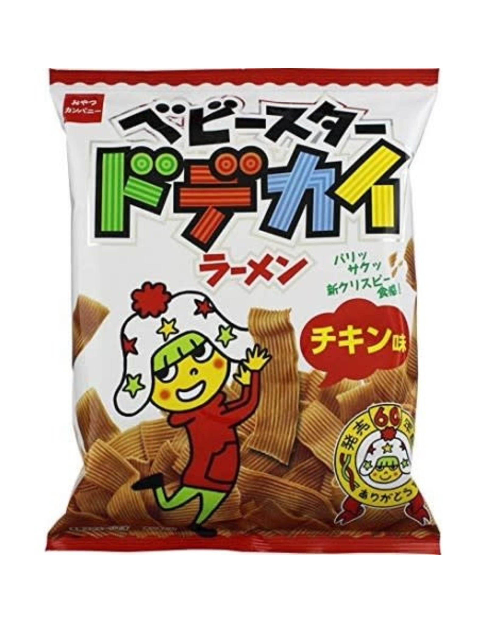 Baby Star Dodekai - Chicken Ramen Flavor - 82g