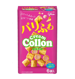 Cream Collon - Strawberry Biscuits - 6 pack