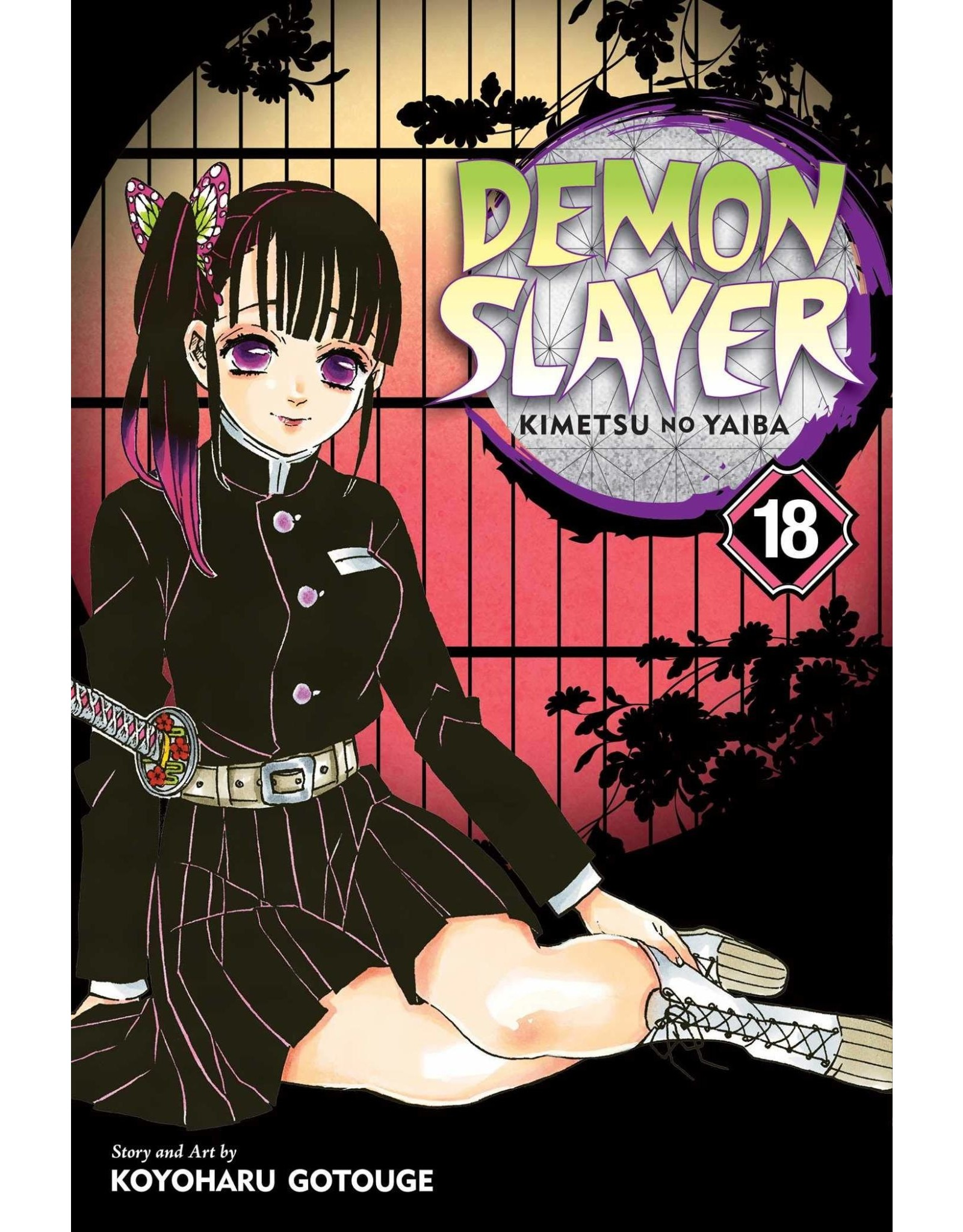 Demon Slayer Volume 18 (Engelstalig)