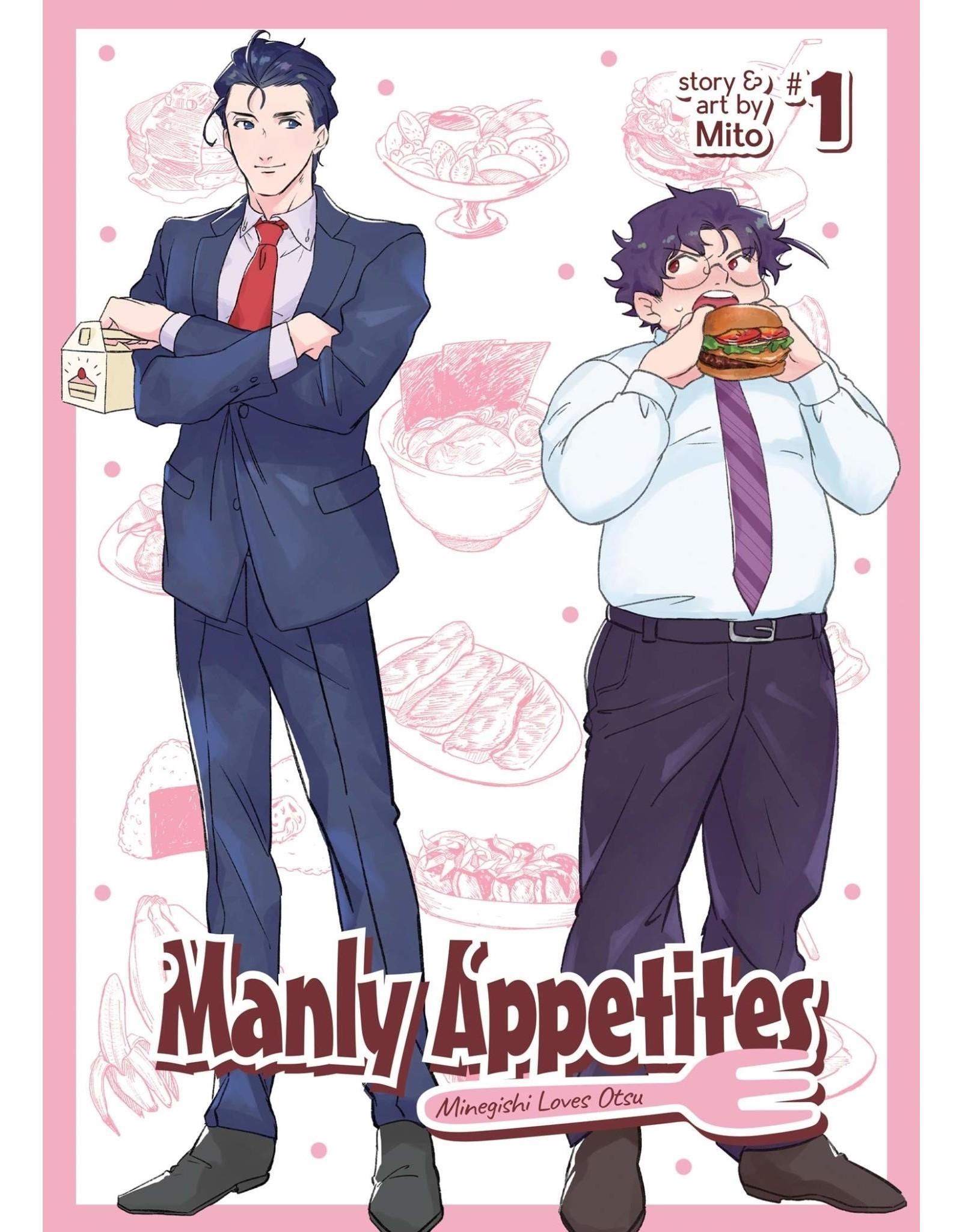 Manly Appetites: Minegishi Loves Otsu (English)
