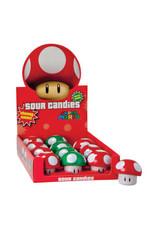 Super Mario Mushroom Sour Candies - 25g